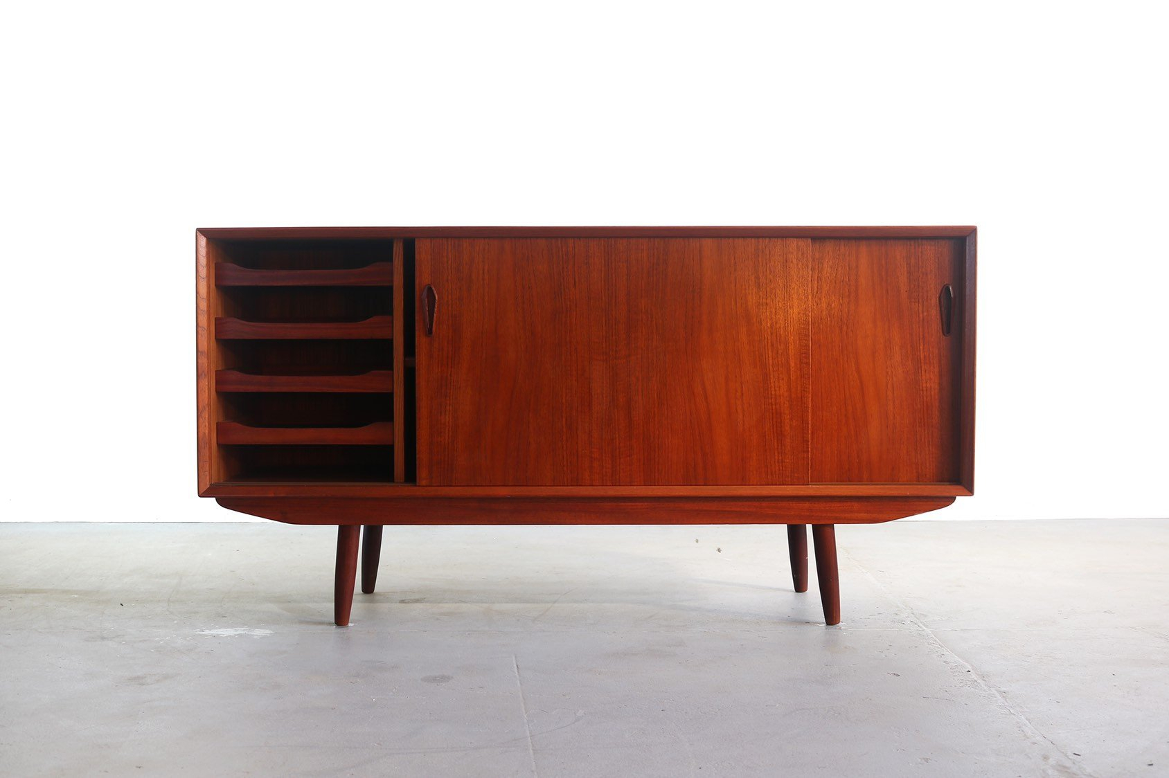 Danish Modern Buffet / Credenza In Teak, Denmark In Modern Teak Buffets (Photo 19 of 30)