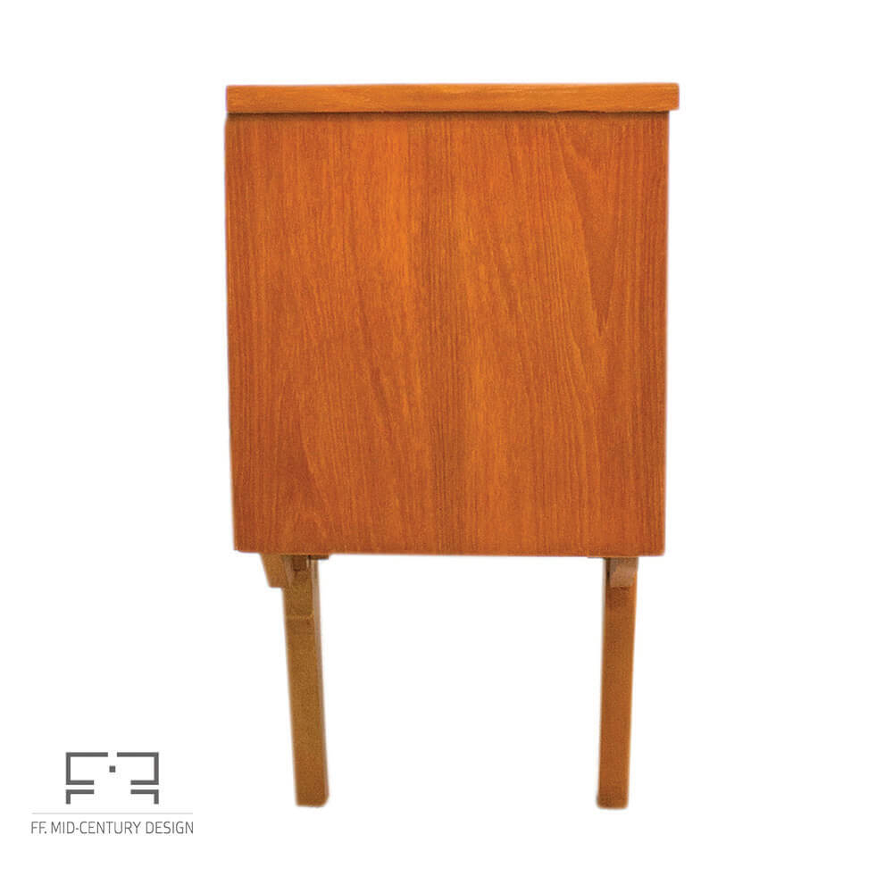 Danish Style Teak Sideboard From Jentique, Uk, 1960s • Mid Century Pertaining To Mid Century Modern Scandinavian Style Buffets (View 23 of 30)