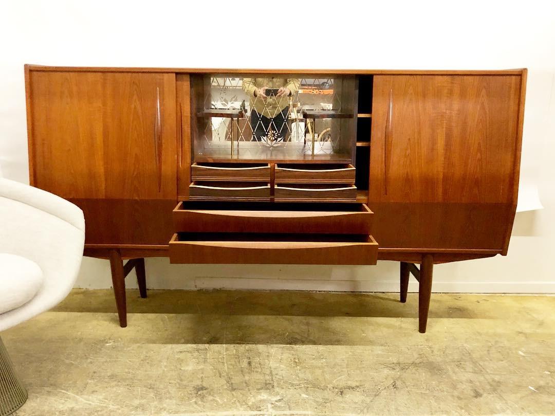 Danish Teak Buffet Sideboard With Modern Teak Buffets (Gallery 28 of 30)