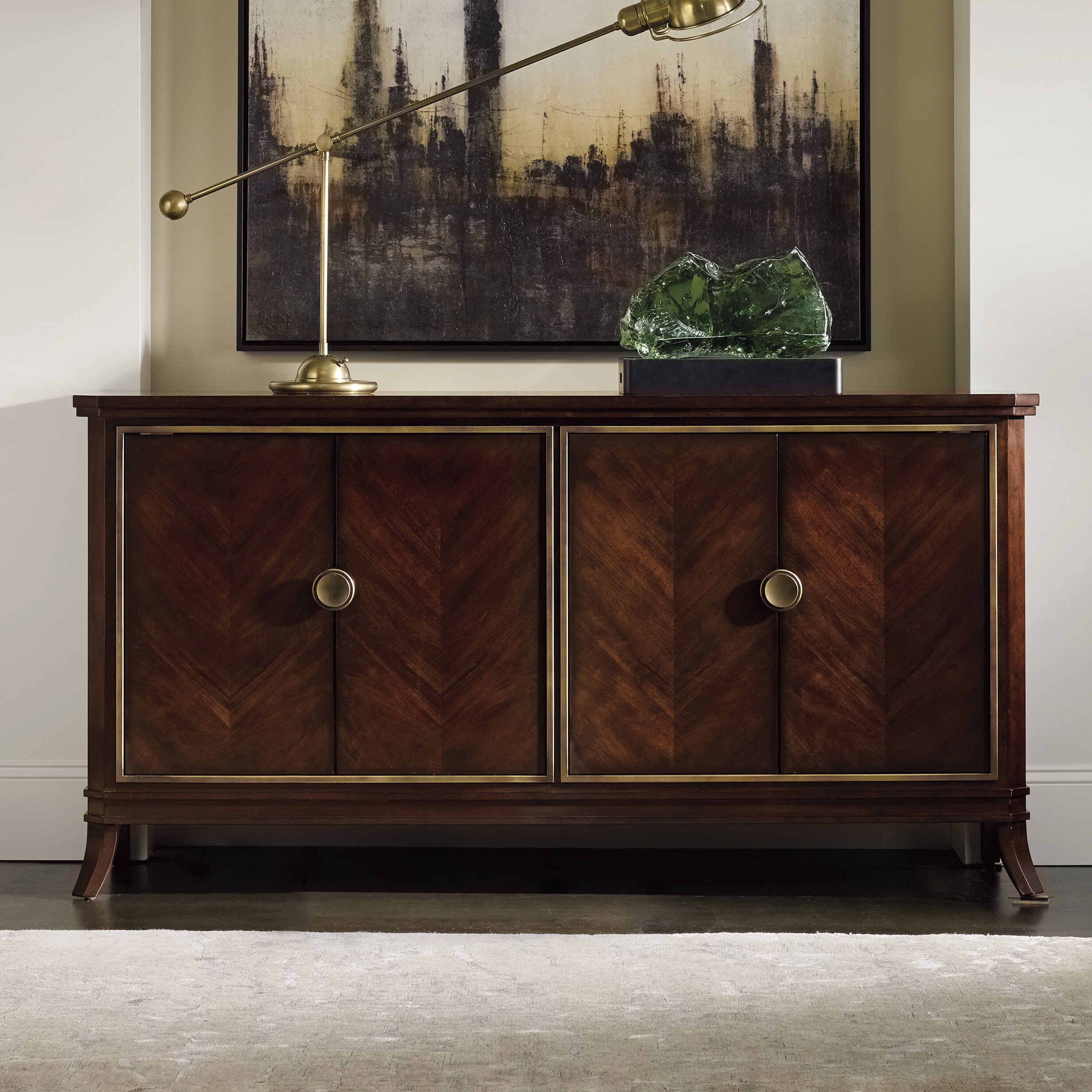 Darby Home Co Freemont Sideboard & Reviews | Wayfair in Palisade Sideboards (Image 4 of 30)