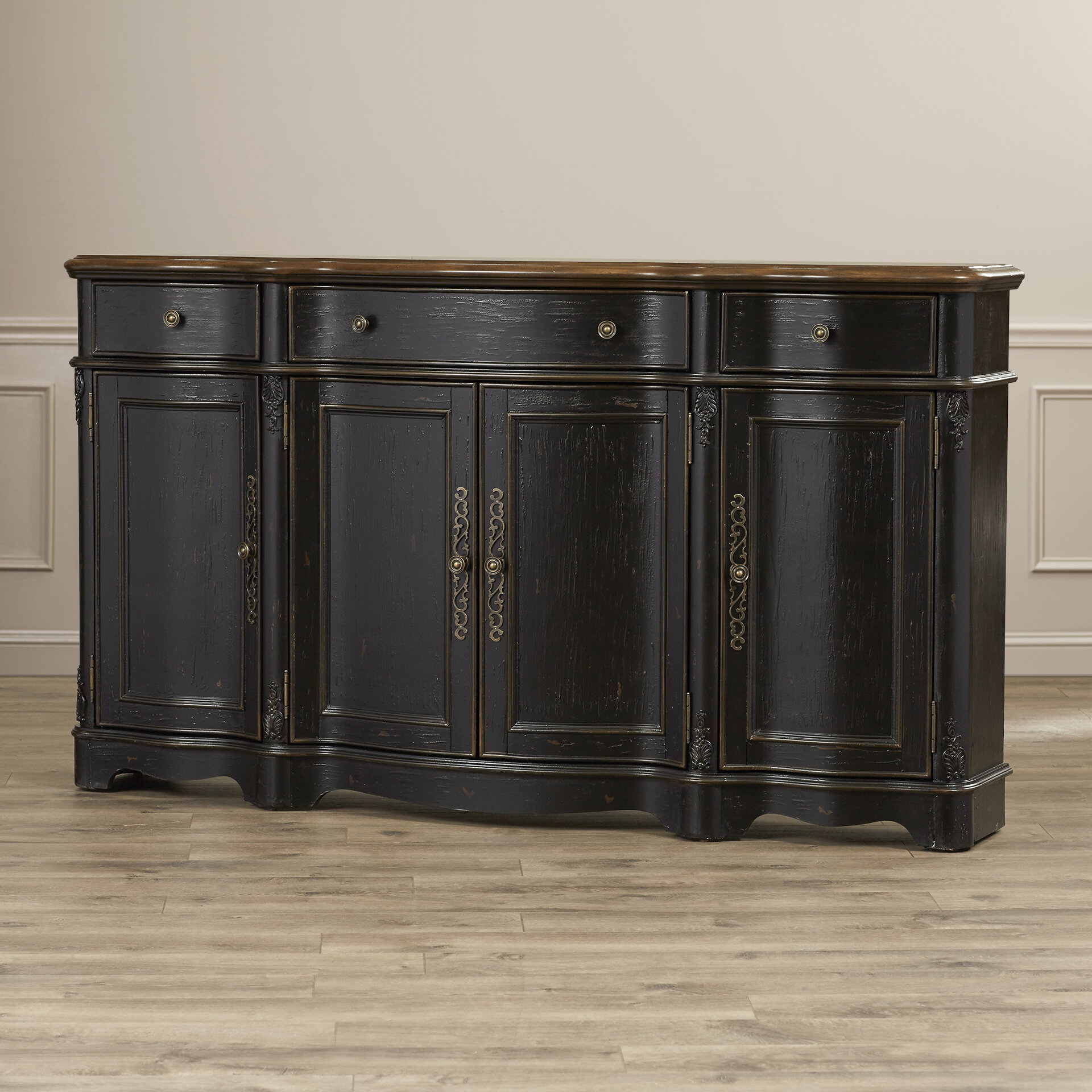 Darby Home Co Hewlett Sideboard & Reviews | Wayfair For Solana Sideboards (Gallery 12 of 30)