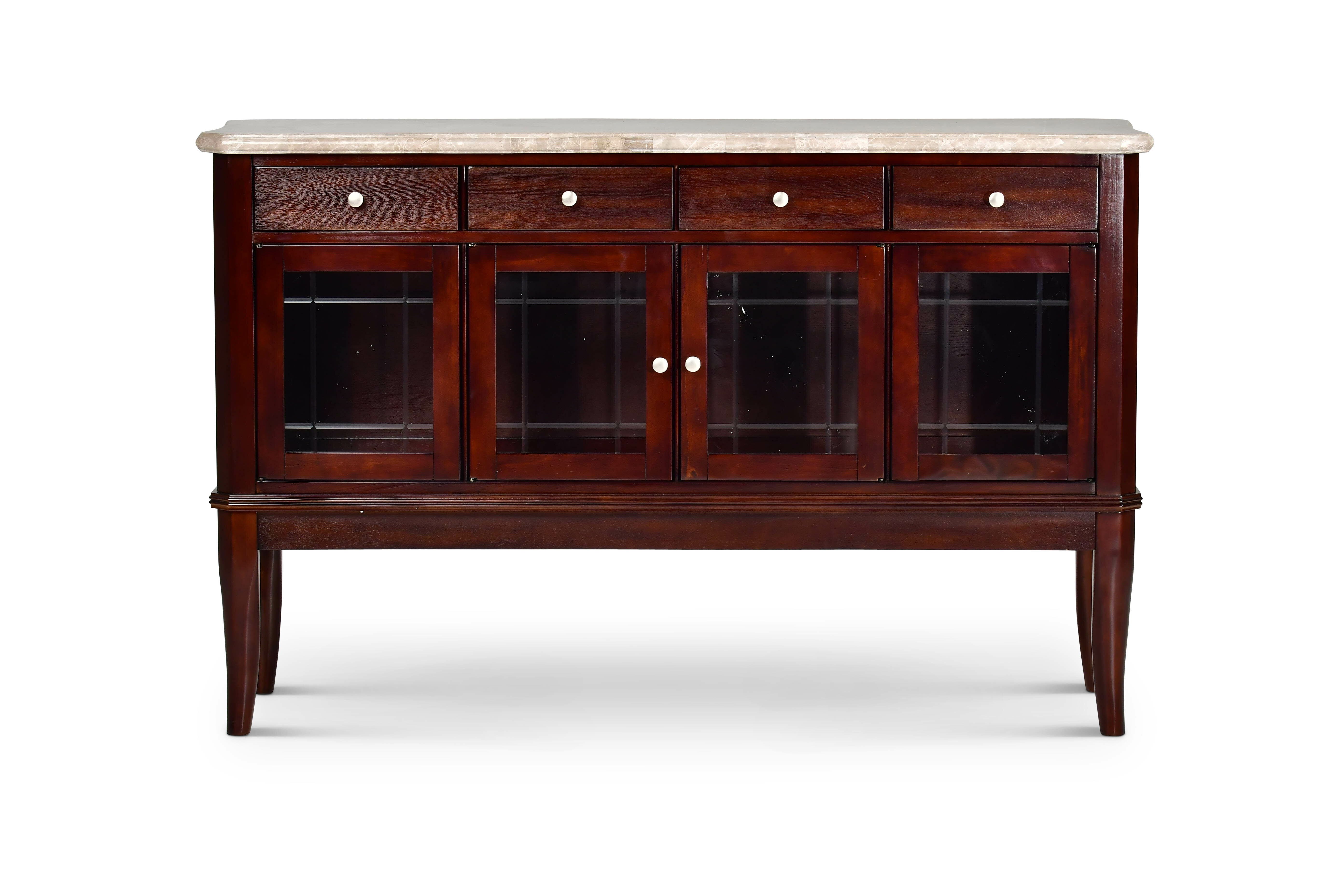 Darby Home Co Swenson Buffet Table In Candide Wood Credenzas (Photo 15 of 30)