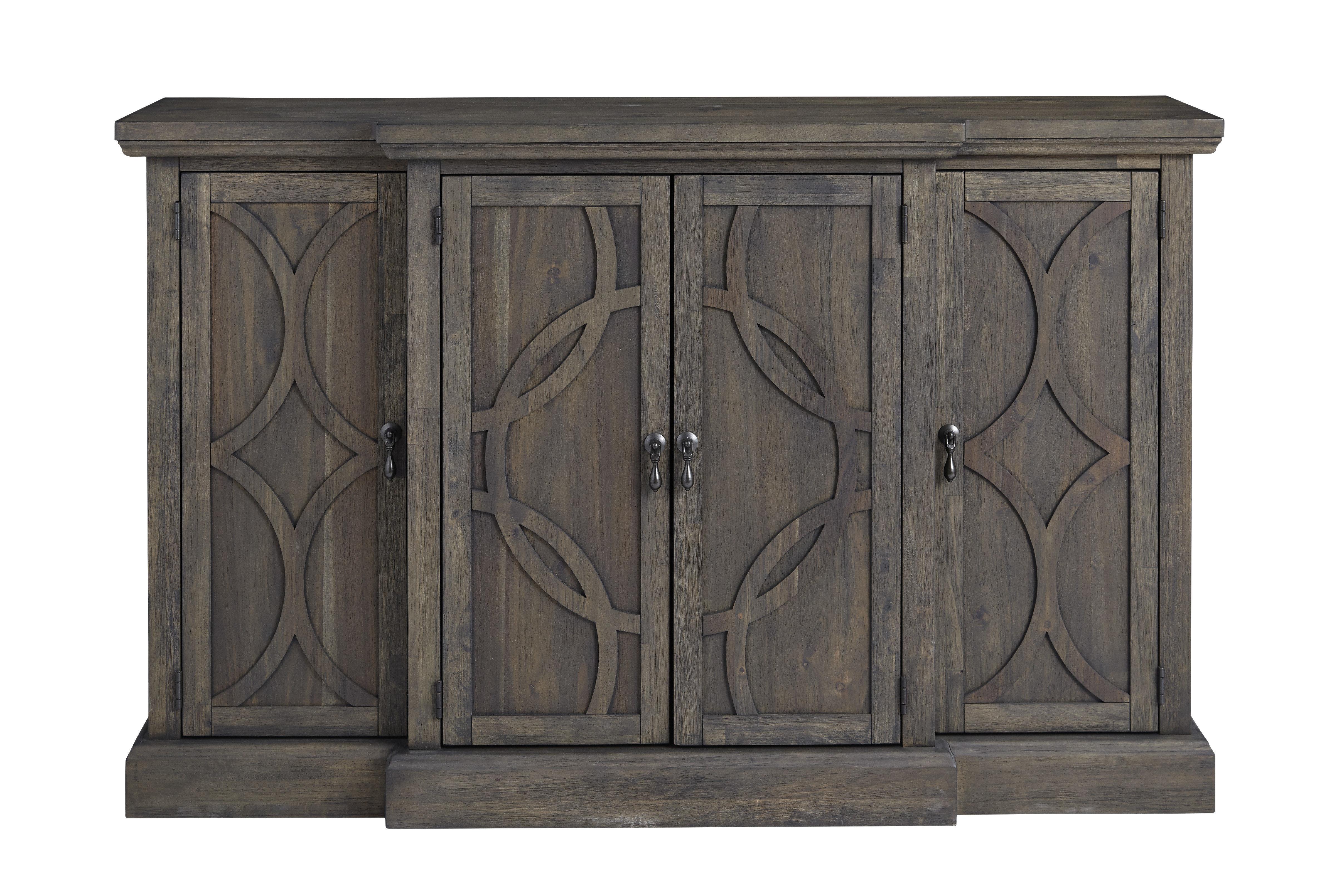 Dark Brown Buffet Table | Wayfair Regarding Modern And Contemporary Dark Brown Buffets With Glass Doors (Photo 7 of 30)