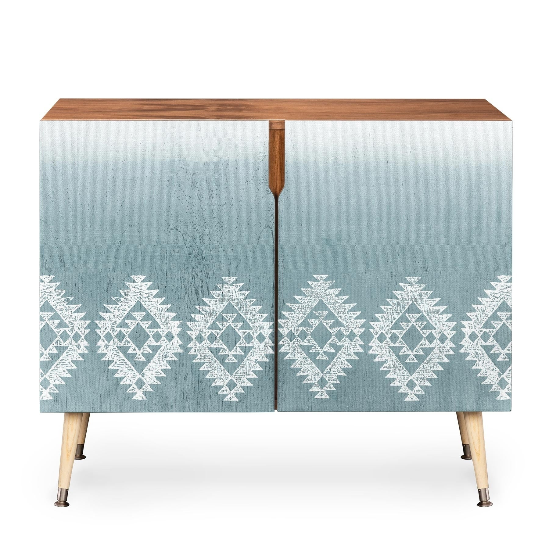 Dash And Ash Morning Fogg Wood Credenza In Copper Leaf Wood Credenzas (Photo 4 of 30)