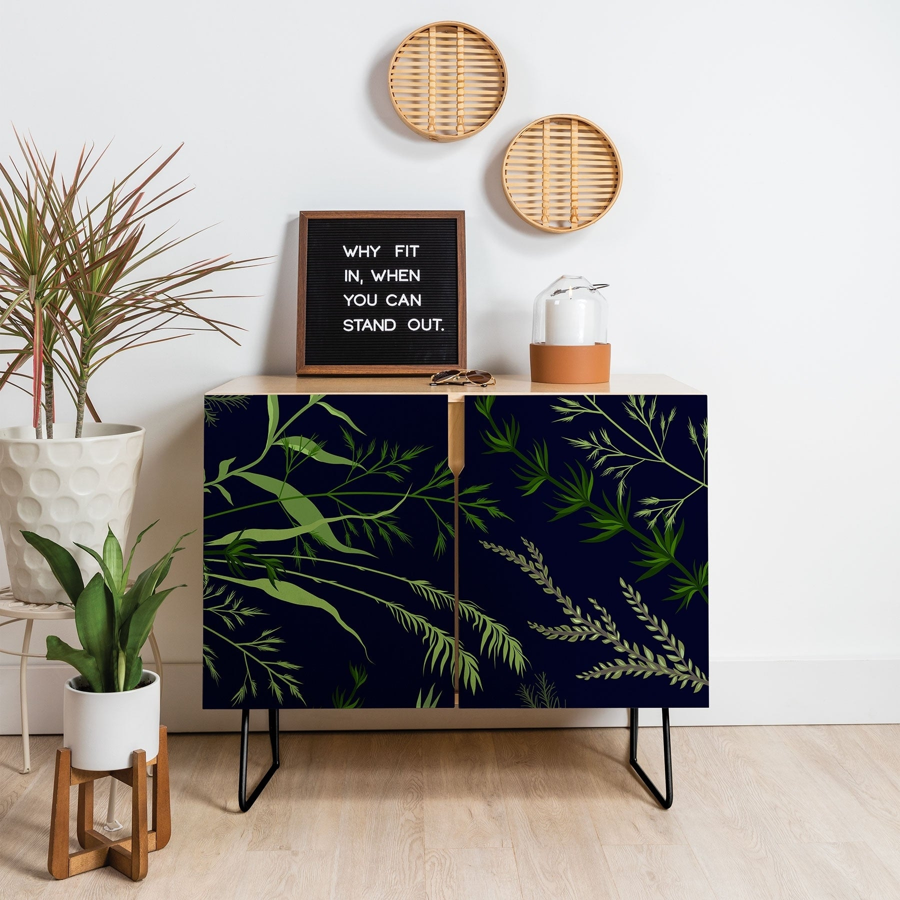 Featured Photo of Deep Blue Fern Credenzas