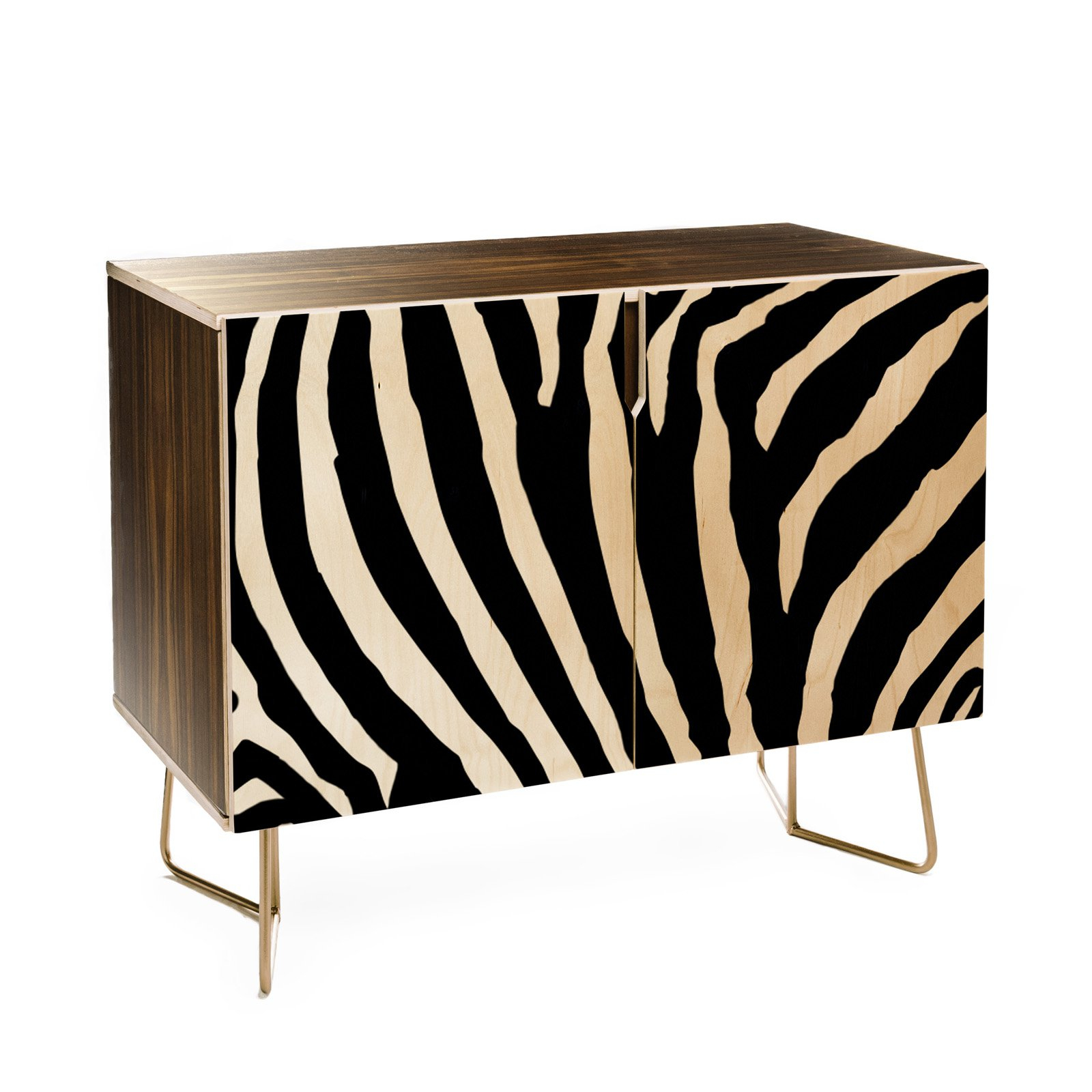 Deny Designs Natalie Baca Zebra Stripes Credenza | Products Throughout Beach Stripes Credenzas (View 14 of 30)