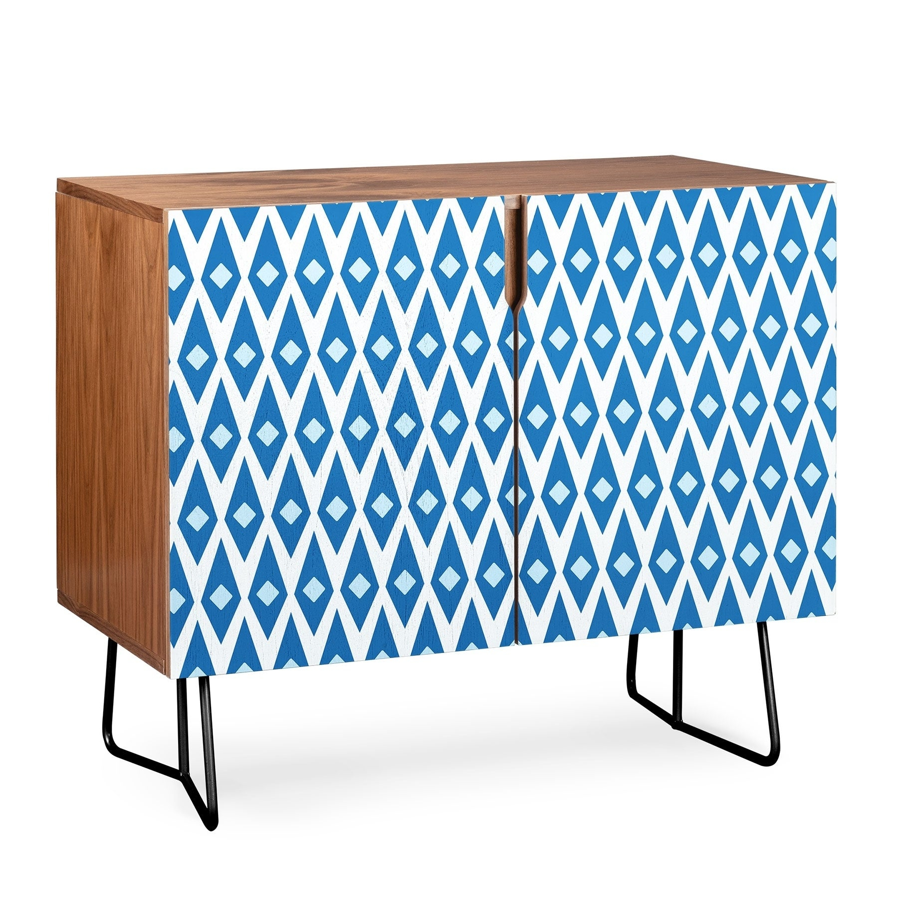 Deny Designs Paragon Credenza (Birch Or Walnut, 2 Leg Options) Inside Bluetrellis Credenzas (Photo 23 of 30)