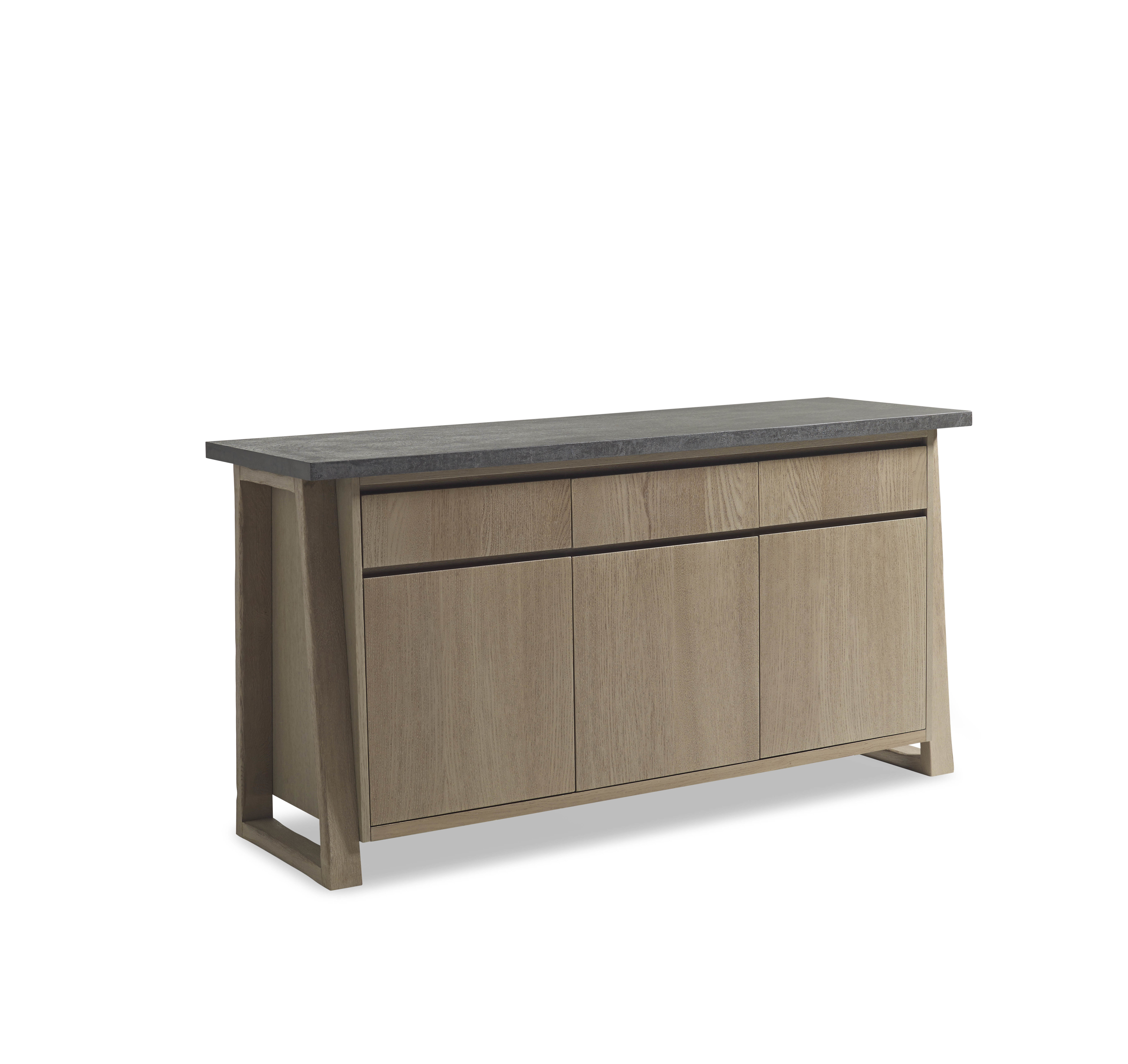 Designer Sideboards - Modern Sideboards | Matthew Izzo for Jacklyn 3 Door Sideboards (Image 8 of 30)