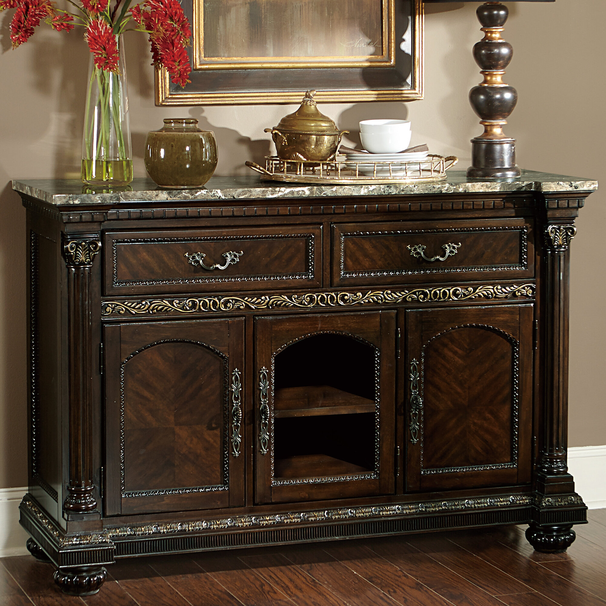 Details About Astoria Grand Clearwell Sideboard With Regard To Chalus Sideboards (View 9 of 30)