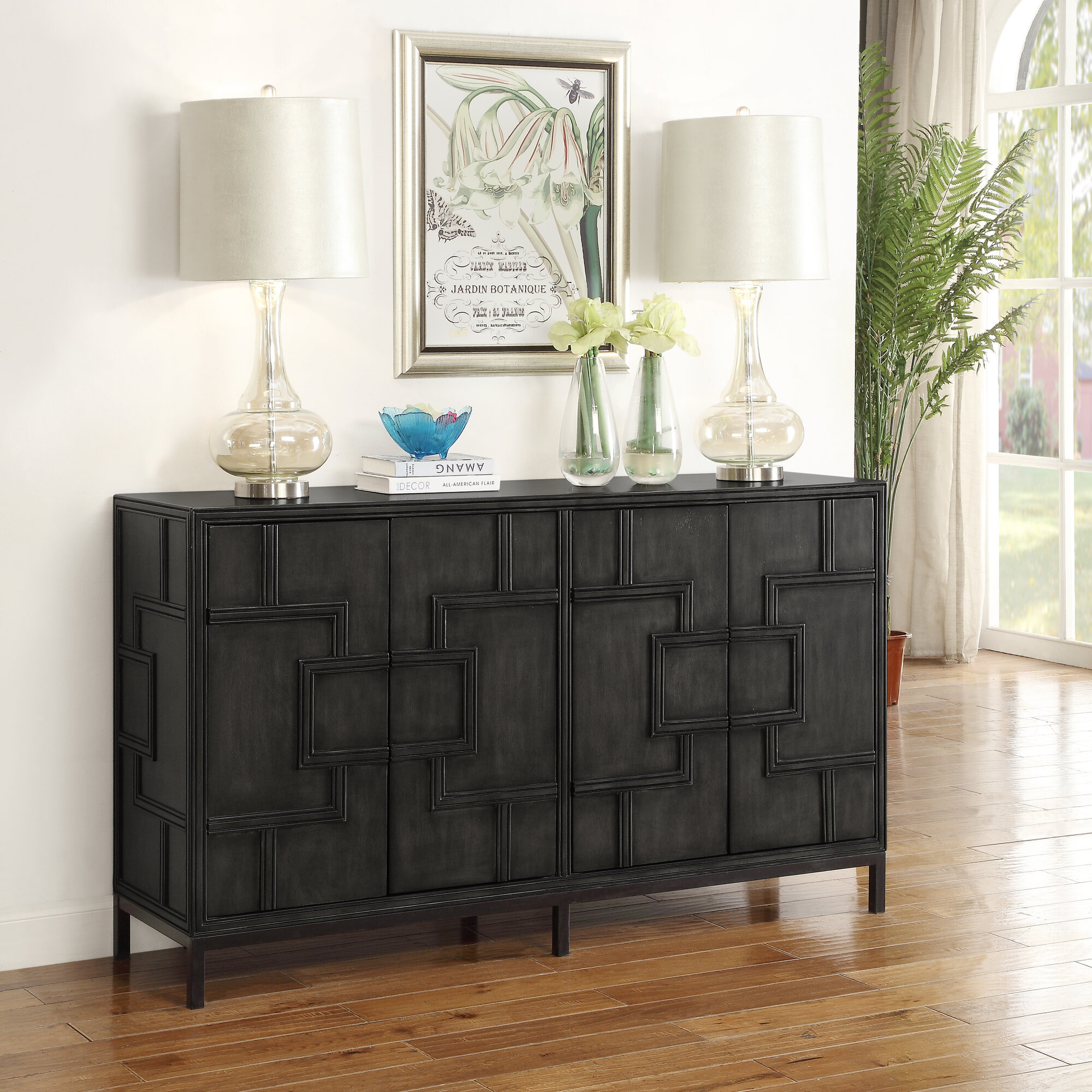 Details About Bloomsbury Market Candide Wood Credenza Regarding Candide Wood Credenzas (Gallery 1 of 30)