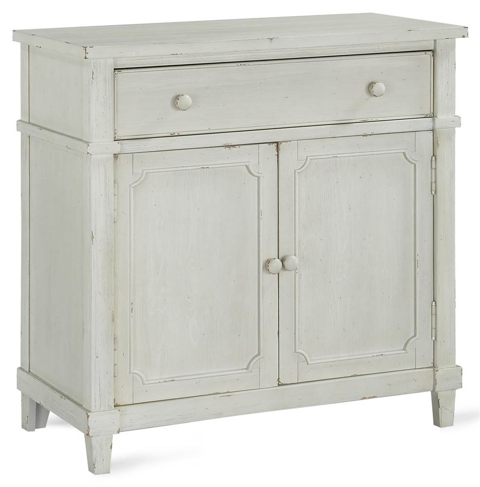 Details About Drummond Accent Cabinet In Antique White Finish [Id 3778170] With Regard To Drummond 3 Drawer Sideboards (Photo 15 of 30)