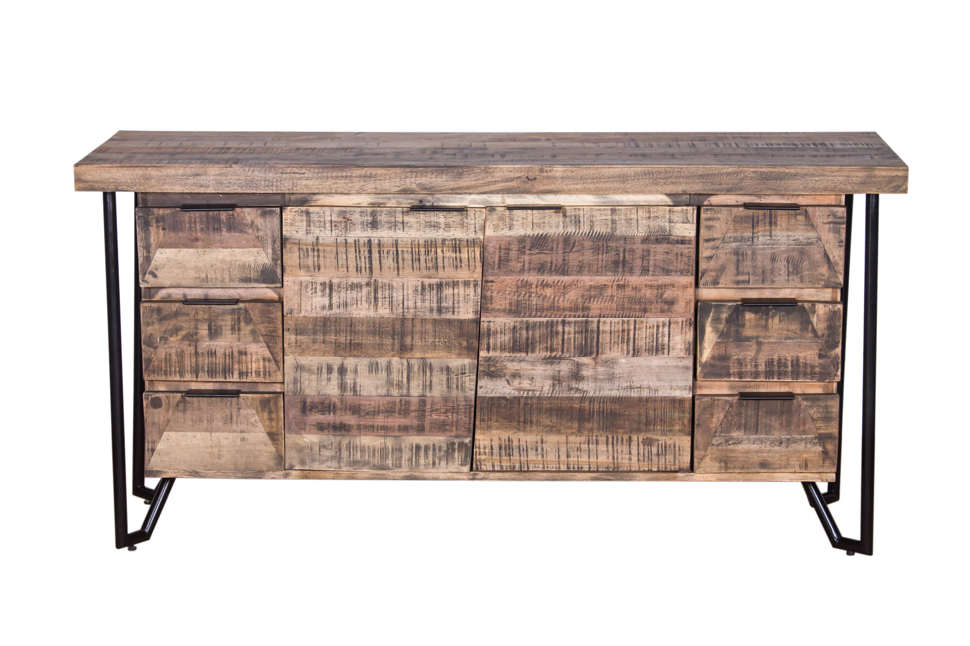 Details About Foundry Select Binder Mixed Wood Buffet Table For Sideboards By Foundry Select (View 13 of 30)
