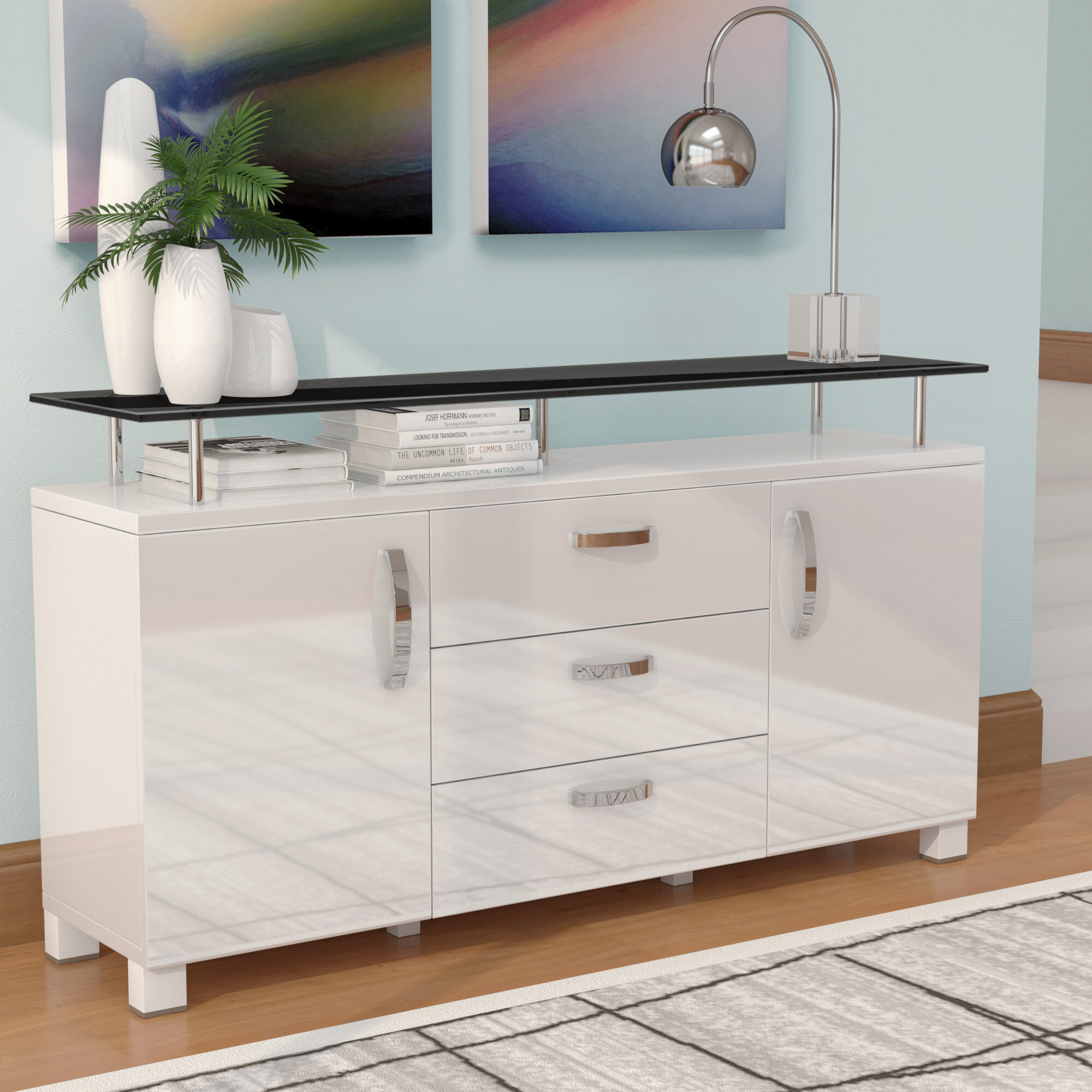Dian Modern Credenza For Caines Credenzas (Photo 14 of 30)
