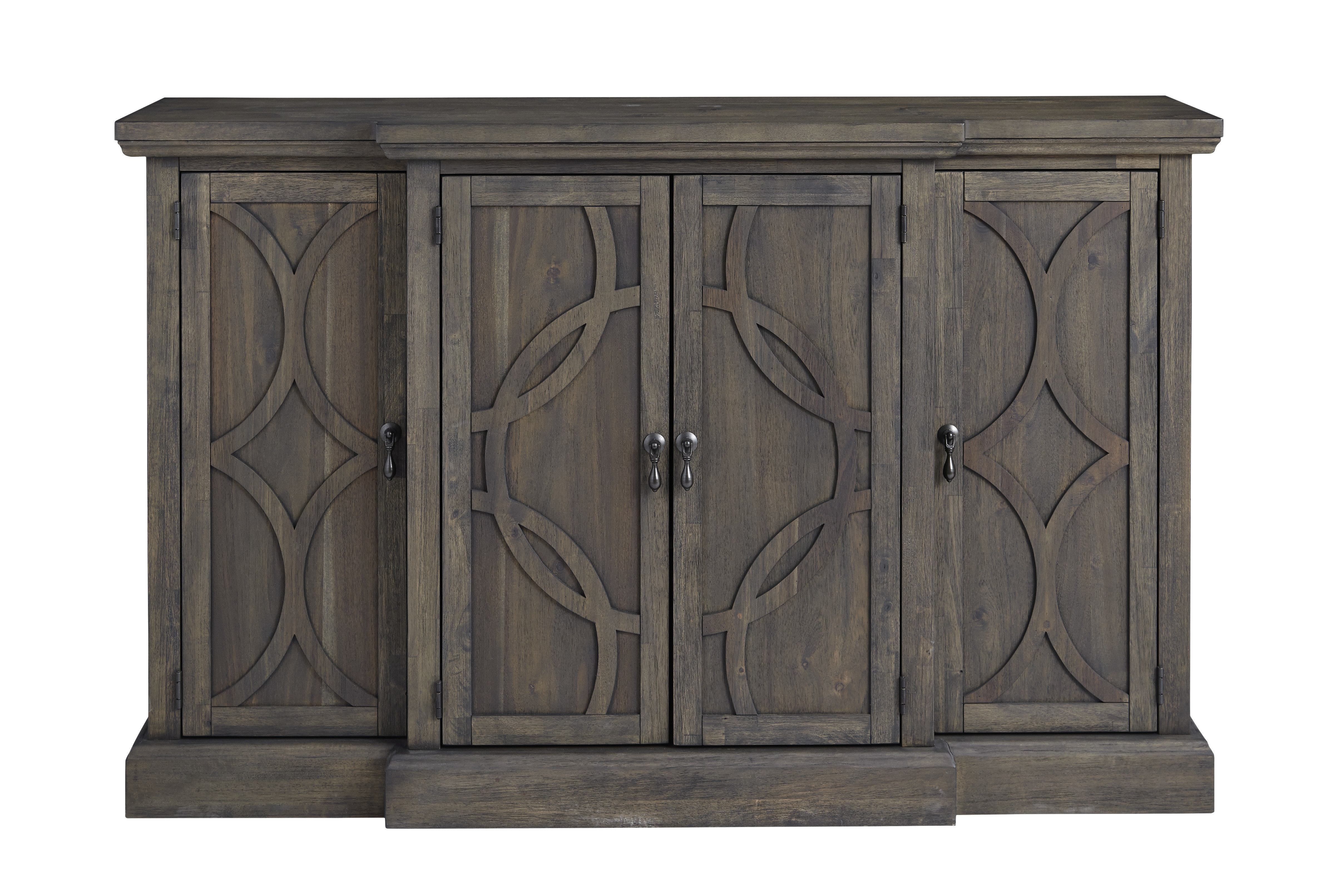 Dining Buffet Server | Wayfair With Regard To Rustic Black 2 Drawer Buffets (Photo 16 of 30)