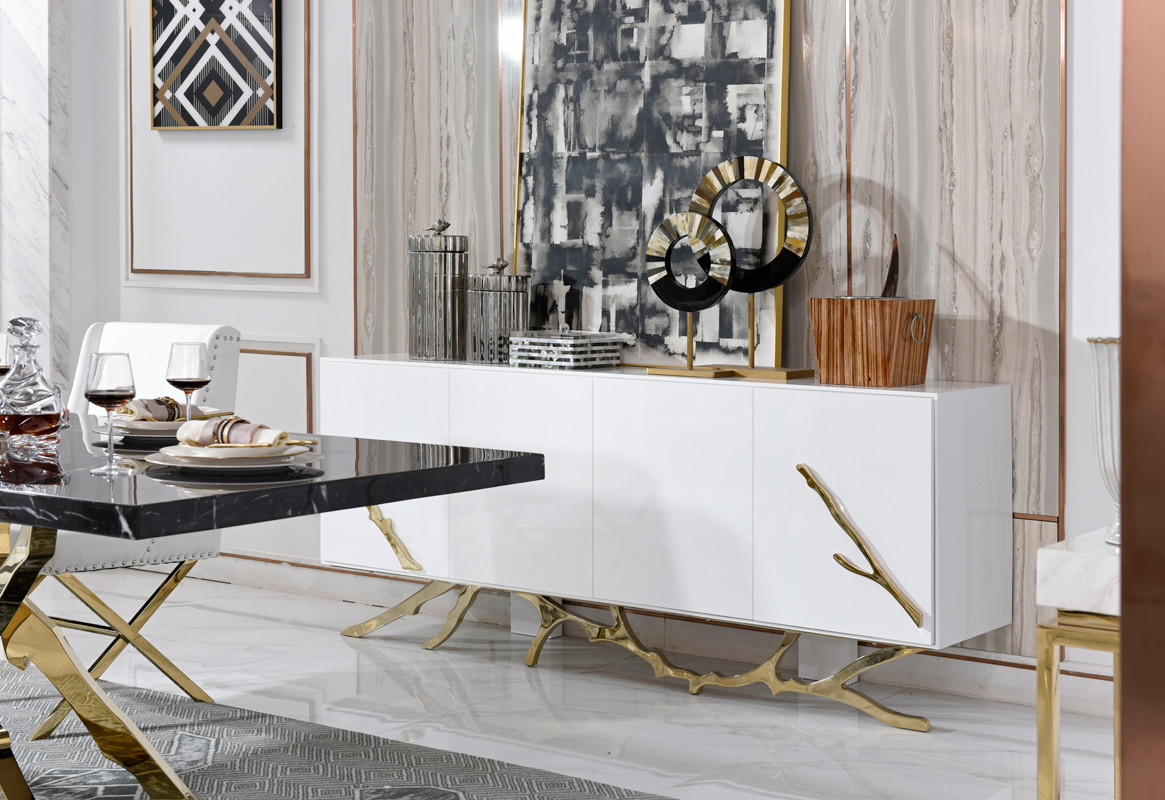 Dining Room Buffets | Modern & Contemporary Buffets Furniture. For Contemporary Black Dining Buffets (Gallery 11 of 30)