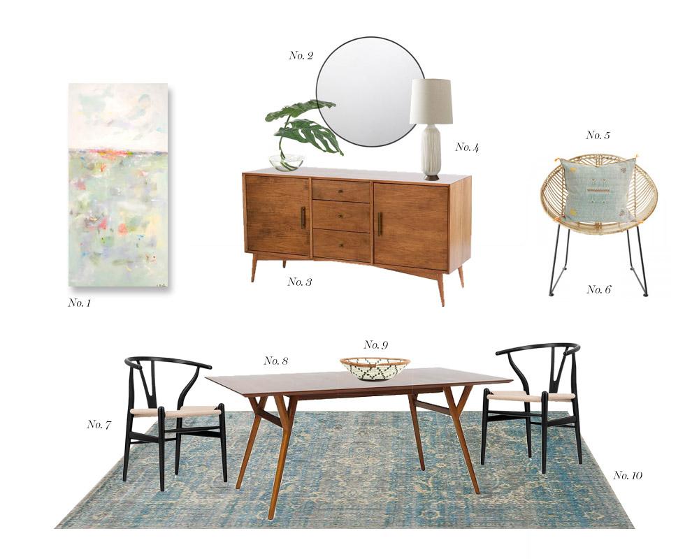 Dining Room Mid Century Modern Island Boho – Erika Brechtel With Regard To Modern Mid Century Buffets (Gallery 29 of 30)