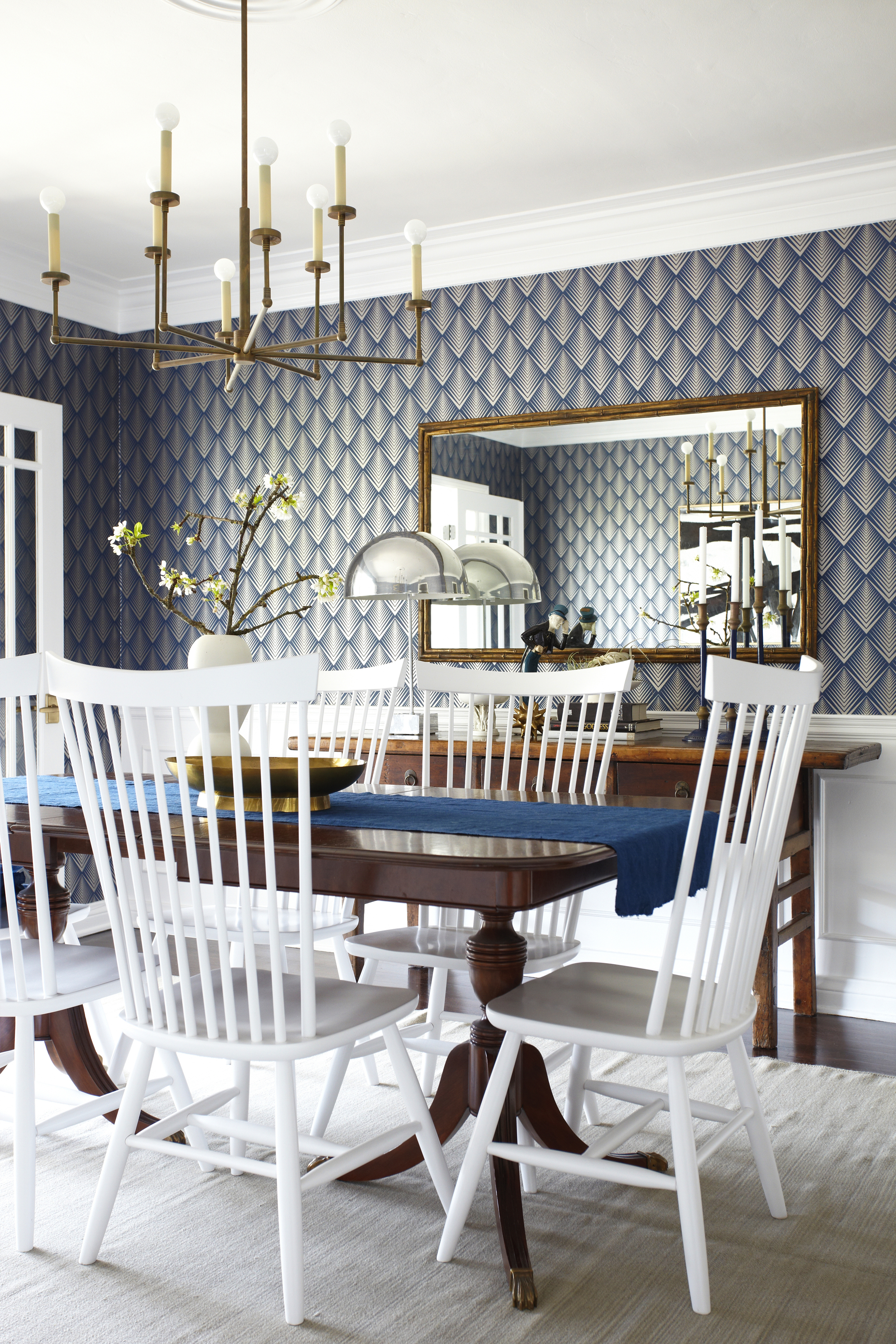 Dining Room Rules – Emily Henderson In Togal Contemporary White/light Oak Dining Buffets (Gallery 29 of 30)