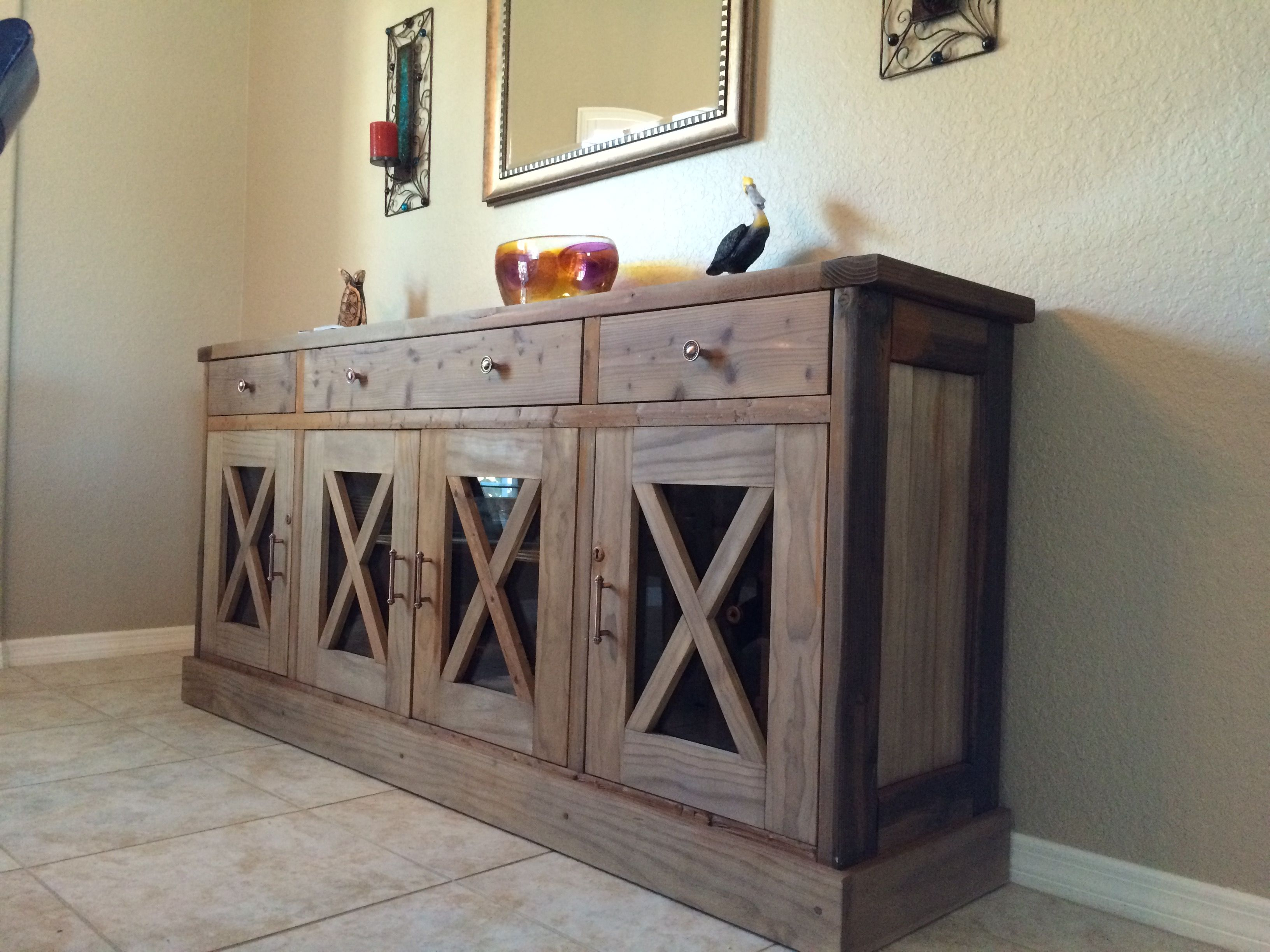 Dining Room Sideboard | Do It Yourself Home Projects From with Rustic Walnut Dining Buffets (Image 12 of 30)