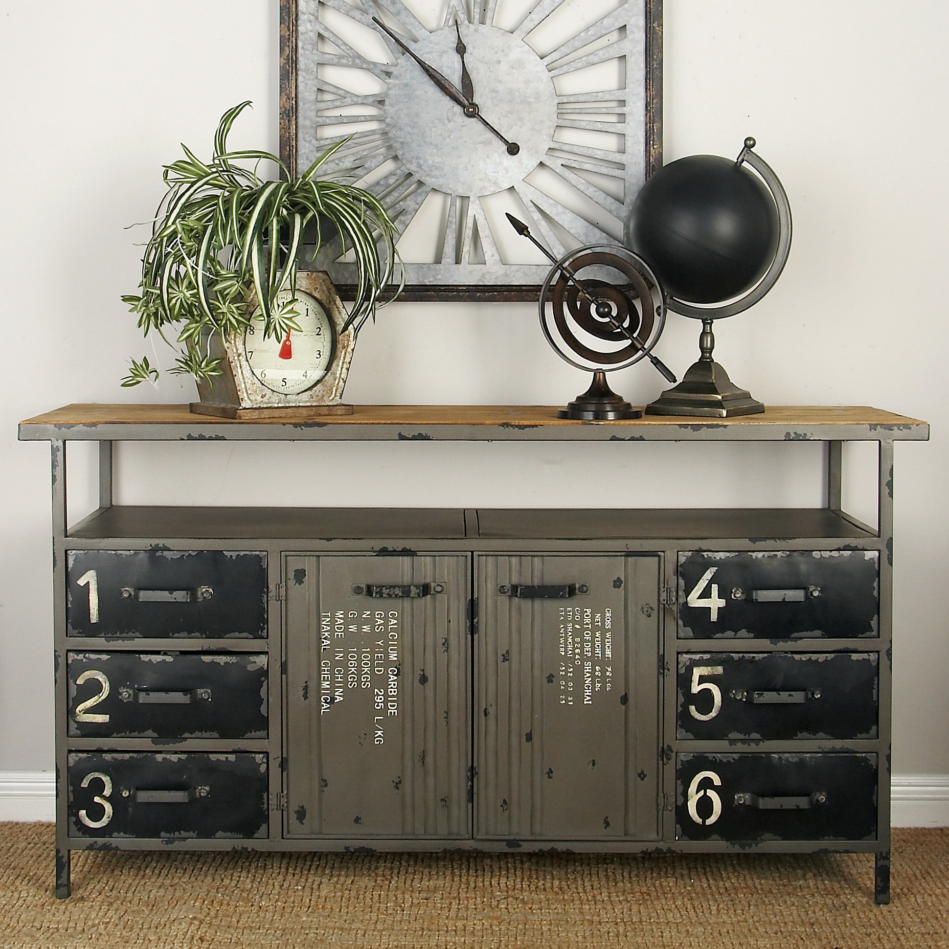 Distressed Finish Sideboards & Buffets You'll Love In 2019 For Massillon Sideboards (Photo 9 of 30)