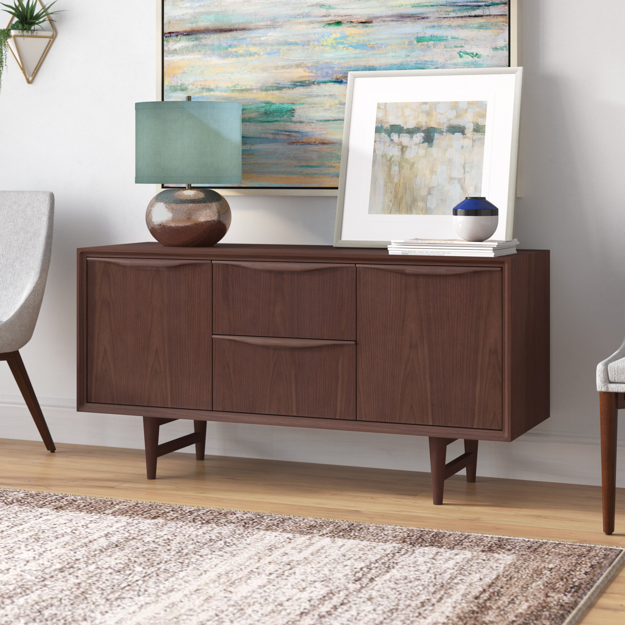 Divis Mid Century Buffet Table Throughout Mid Century Buffets (Gallery 22 of 30)