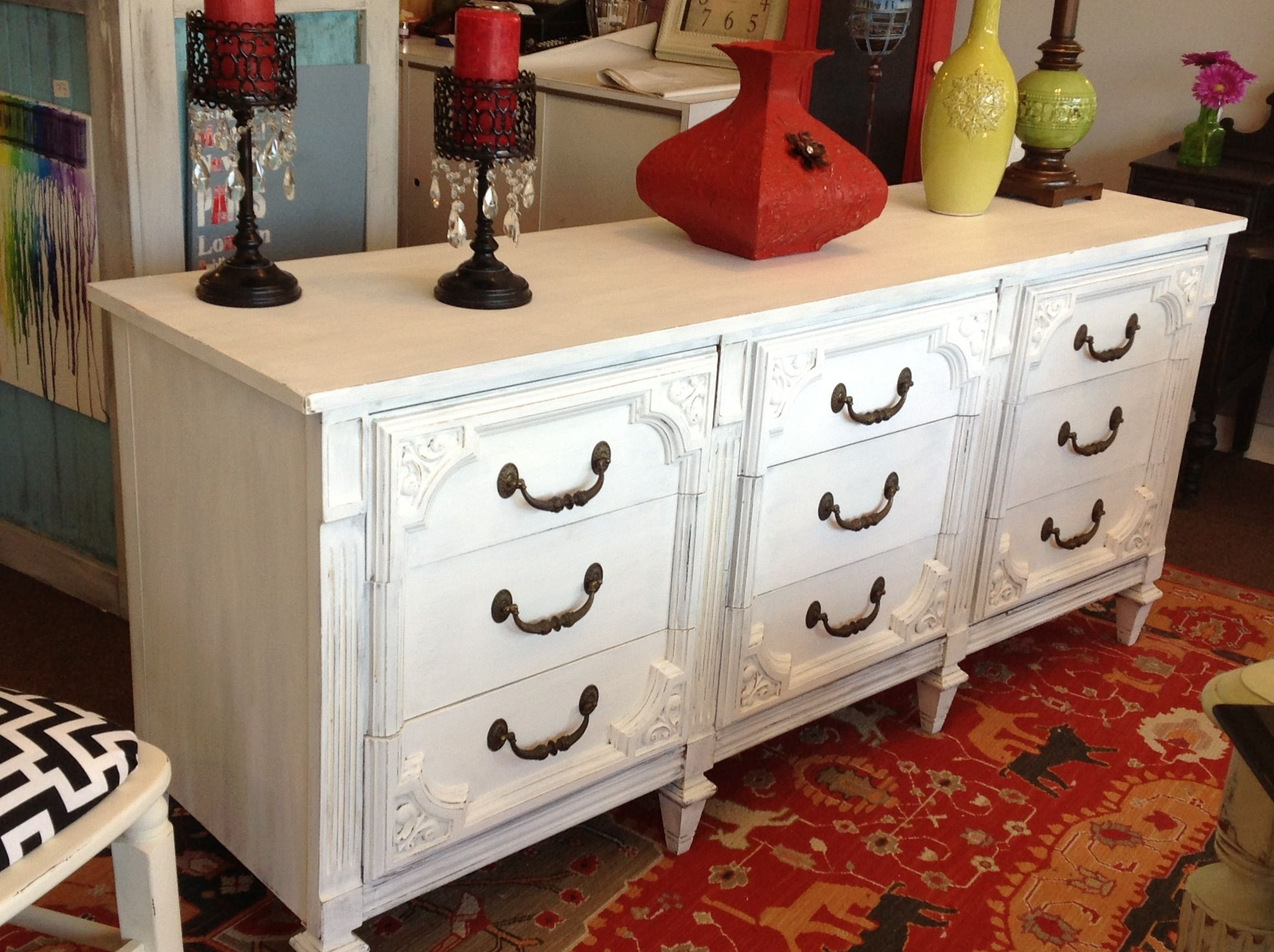 Done In White 71X9X30H | Kiki's Kottage, 320 Main St Regarding Pineville Dining Sideboards (Photo 15 of 30)