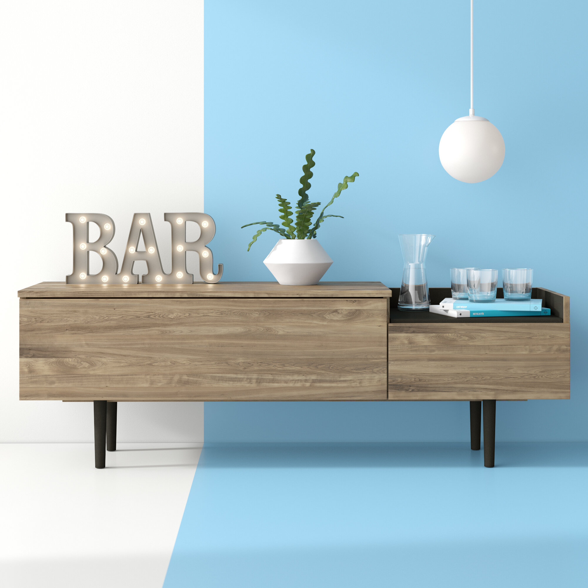 Dovray Sideboard Intended For Dovray Sideboards (Gallery 1 of 30)
