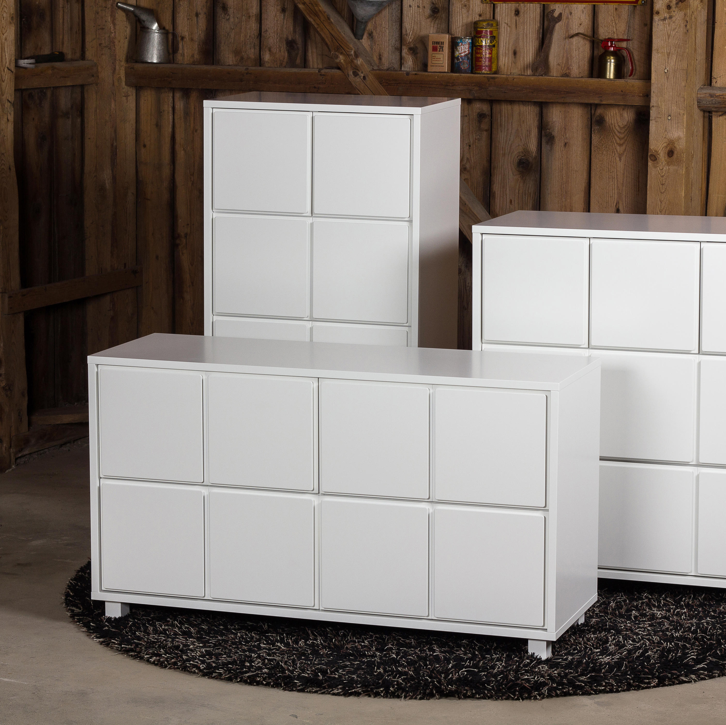 Drawer 1, White – Sideboards / Kommoden Von Scherlin Pertaining To Thite Sideboards (Gallery 14 of 30)
