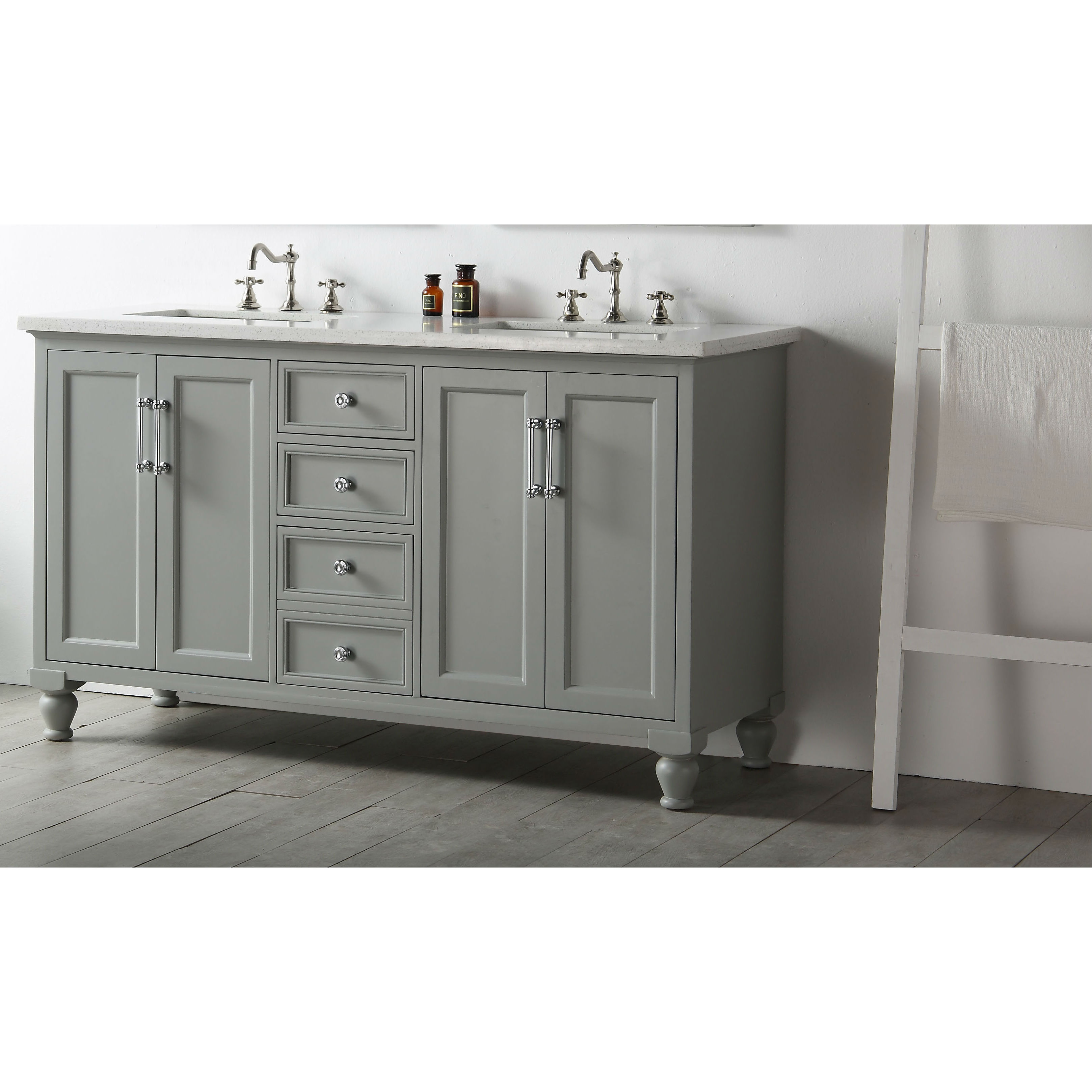 Drop Dead Gorgeous Bathroom Vanity Furniture Style Grey within Arminta Wood Sideboards (Image 9 of 30)