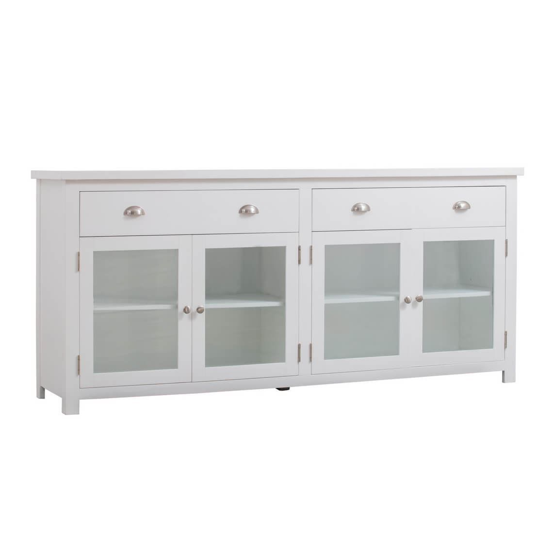 East Port Buffet, Crisp White | Products In 2019 | Buffet Regarding Amityville Sideboards (Image 23 of 30)