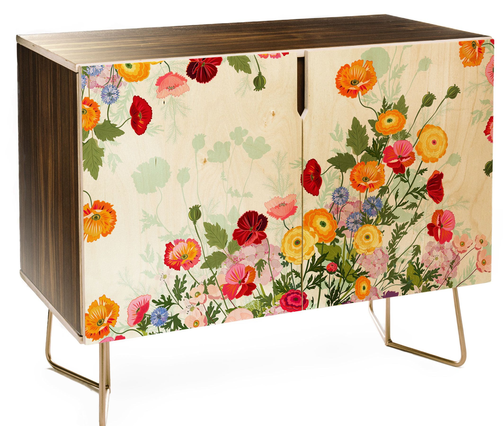 East Urban Home Iveta Abolina Emmaline Credenza In 2019 Inside Emmaline Sideboards (View 3 of 30)