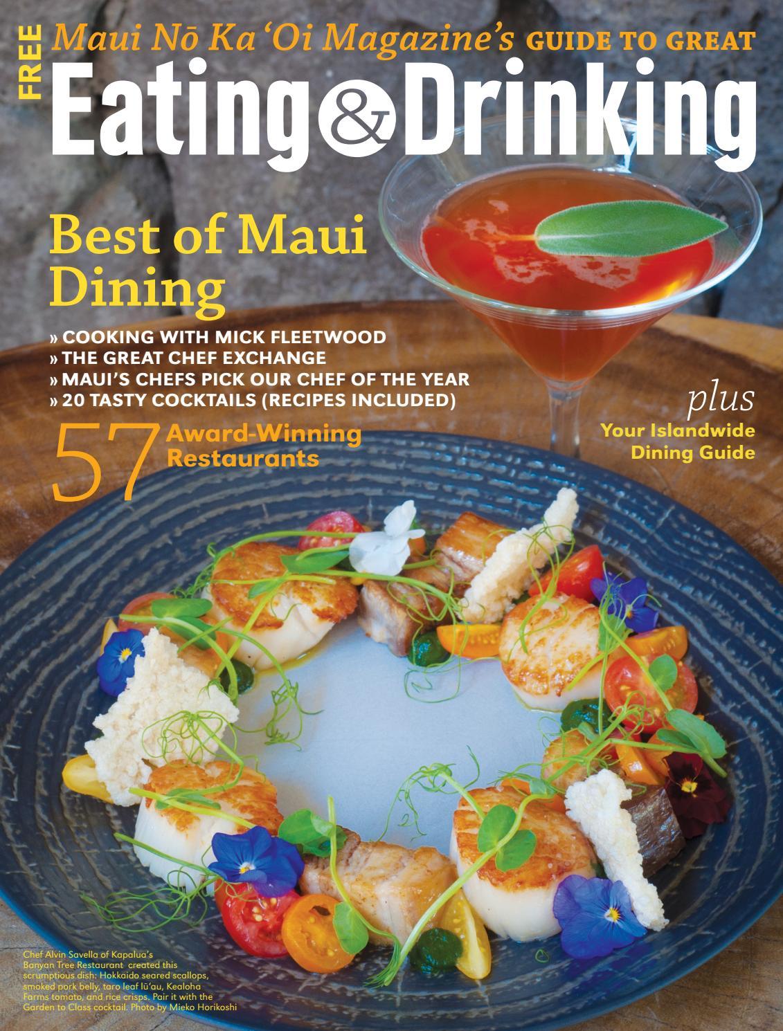 Eating & Drinking On Mauimaui No Ka 'oi Magazine – Issuu Regarding Simple Living Maui Buffets (View 9 of 30)