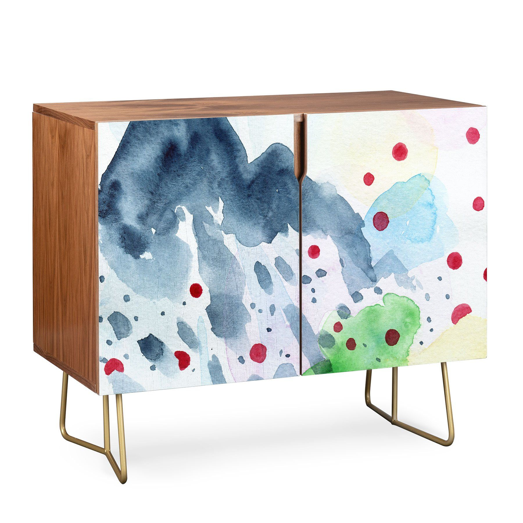Elena Blanco The Origin Of Spring 1 Credenza | Elena Blanco Intended For Wooden Deconstruction Credenzas (View 24 of 30)
