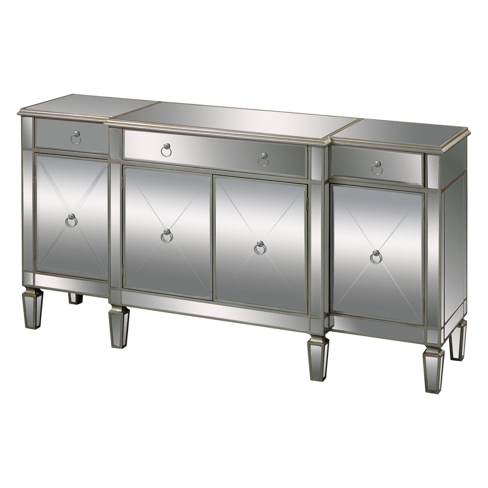 Elk Lighting Bodrum Buffet Server – 6043618 | Products Throughout 3 Drawer Titanium Buffets (View 7 of 30)