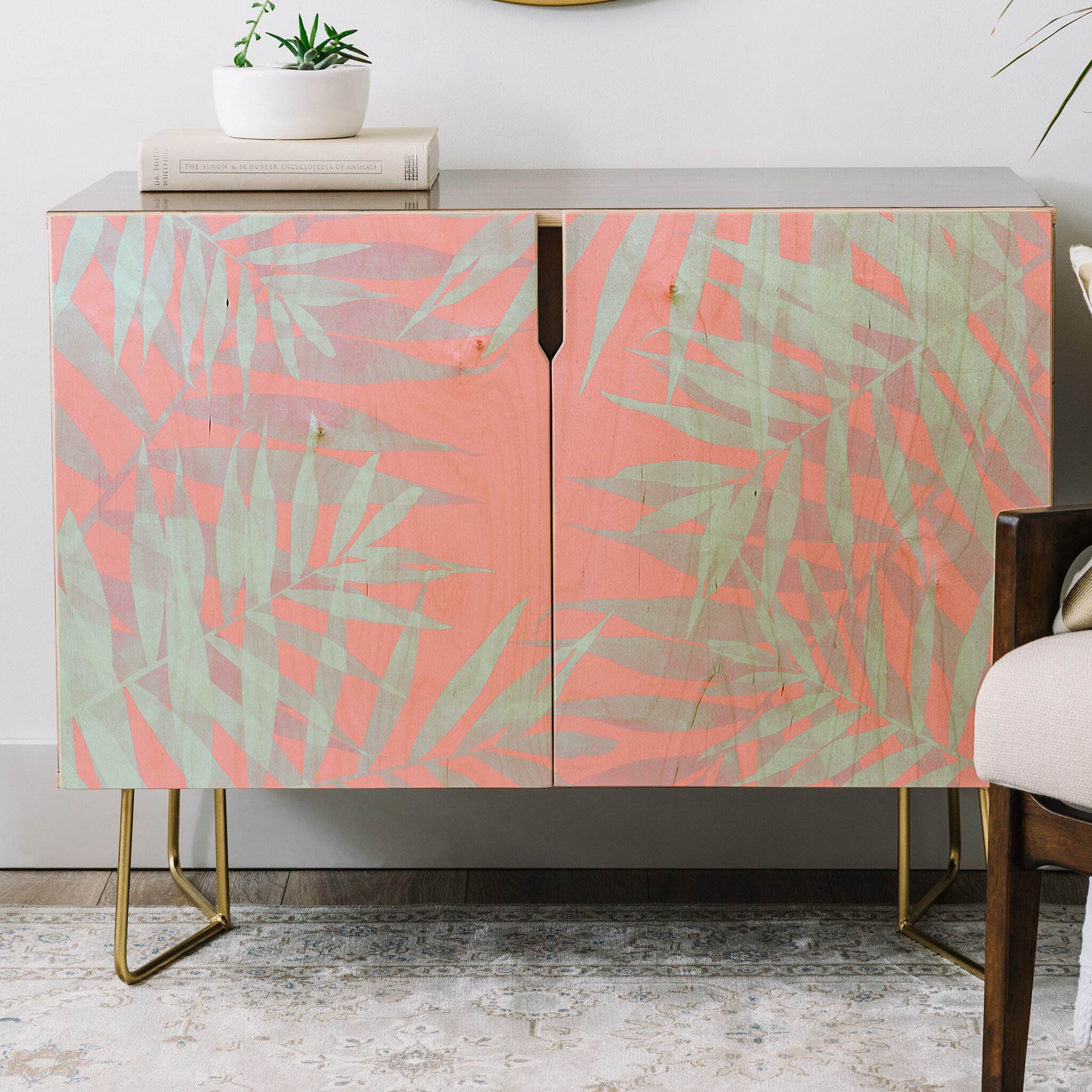 Emanuela Carratoni Tropicana Credenza for Multi Stripe Credenzas (Image 14 of 30)