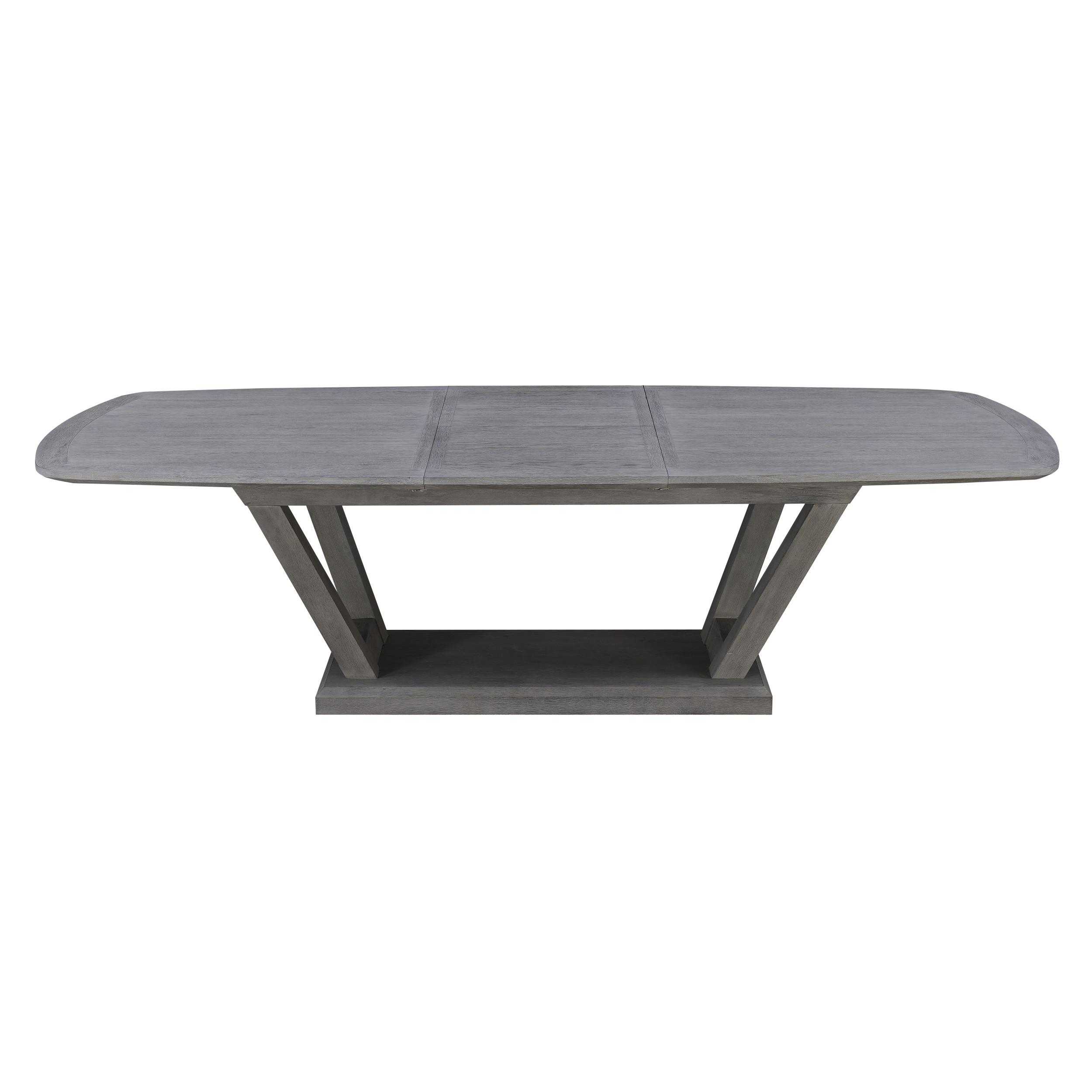 Emerald Home Carrera Gray Modern Dining Table Within Carrera Contemporary Black Dining Buffets (View 18 of 30)