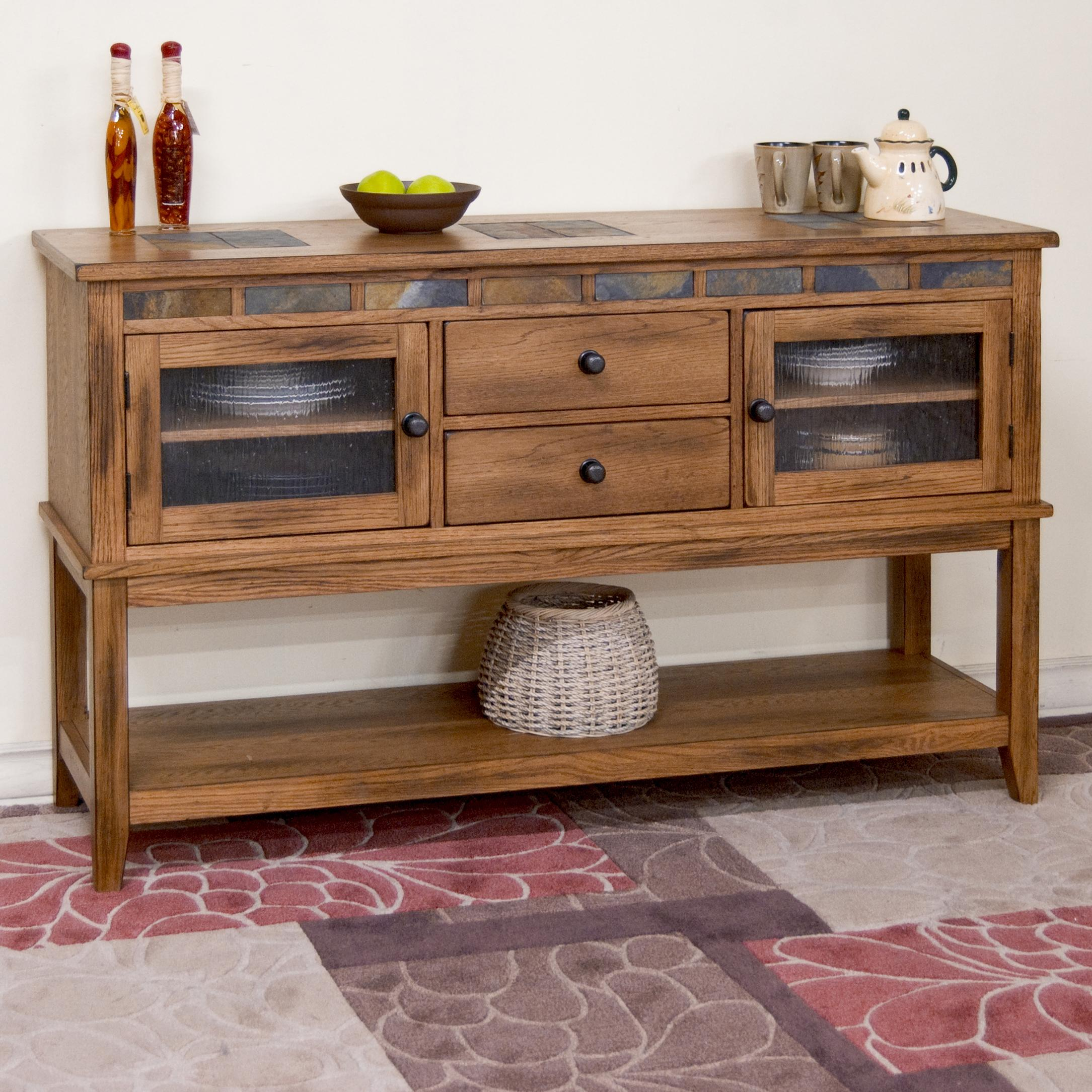 Endorsed Sideboards And Buffets Servers Morris Home Within Solid Wood Contemporary Sideboards Buffets (View 9 of 30)