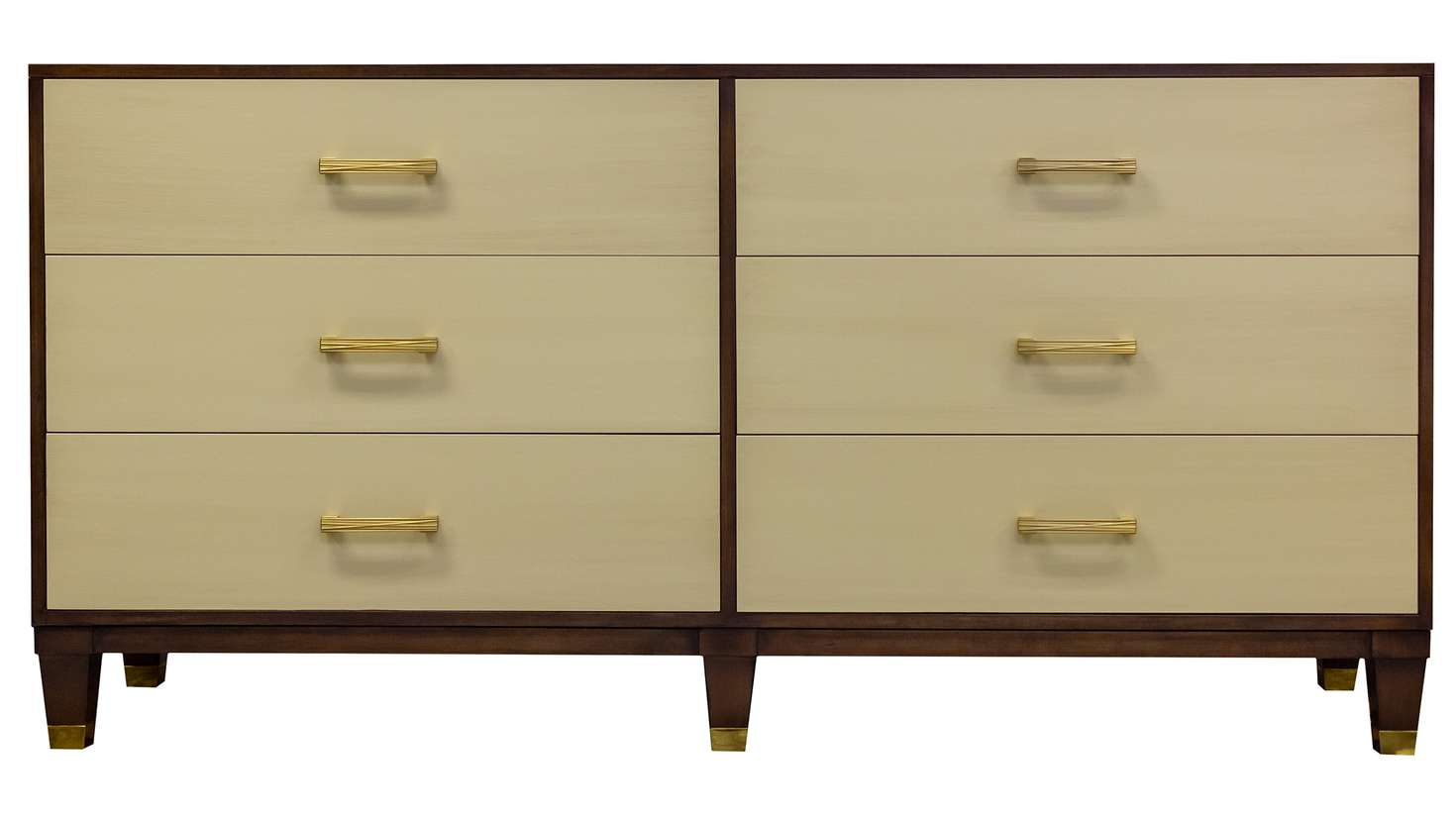"Facets 72"" Credenza, Six Drawer 
