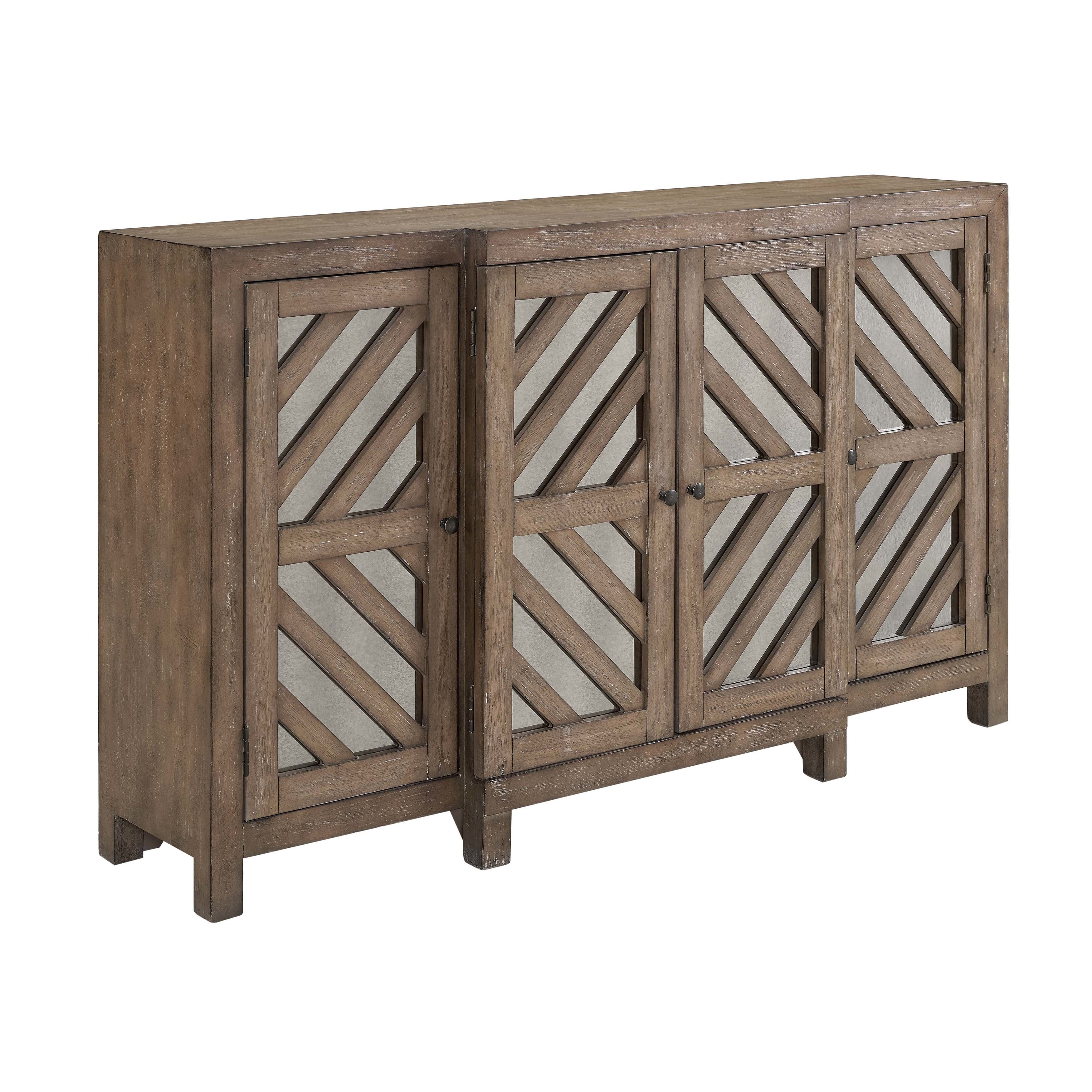 Farmhouse & Rustic Sideboards & Buffets | Birch Lane throughout Amityville Wood Sideboards (Image 19 of 30)