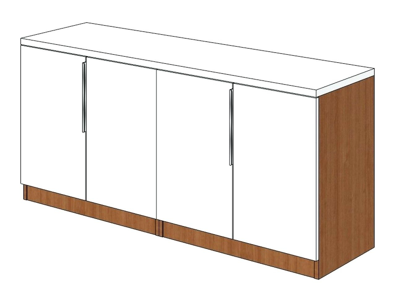 Four Door Credenza Cheval 2 Coast To Furniture Three Drawer For Fugate 2 Door Credenzas (View 17 of 30)