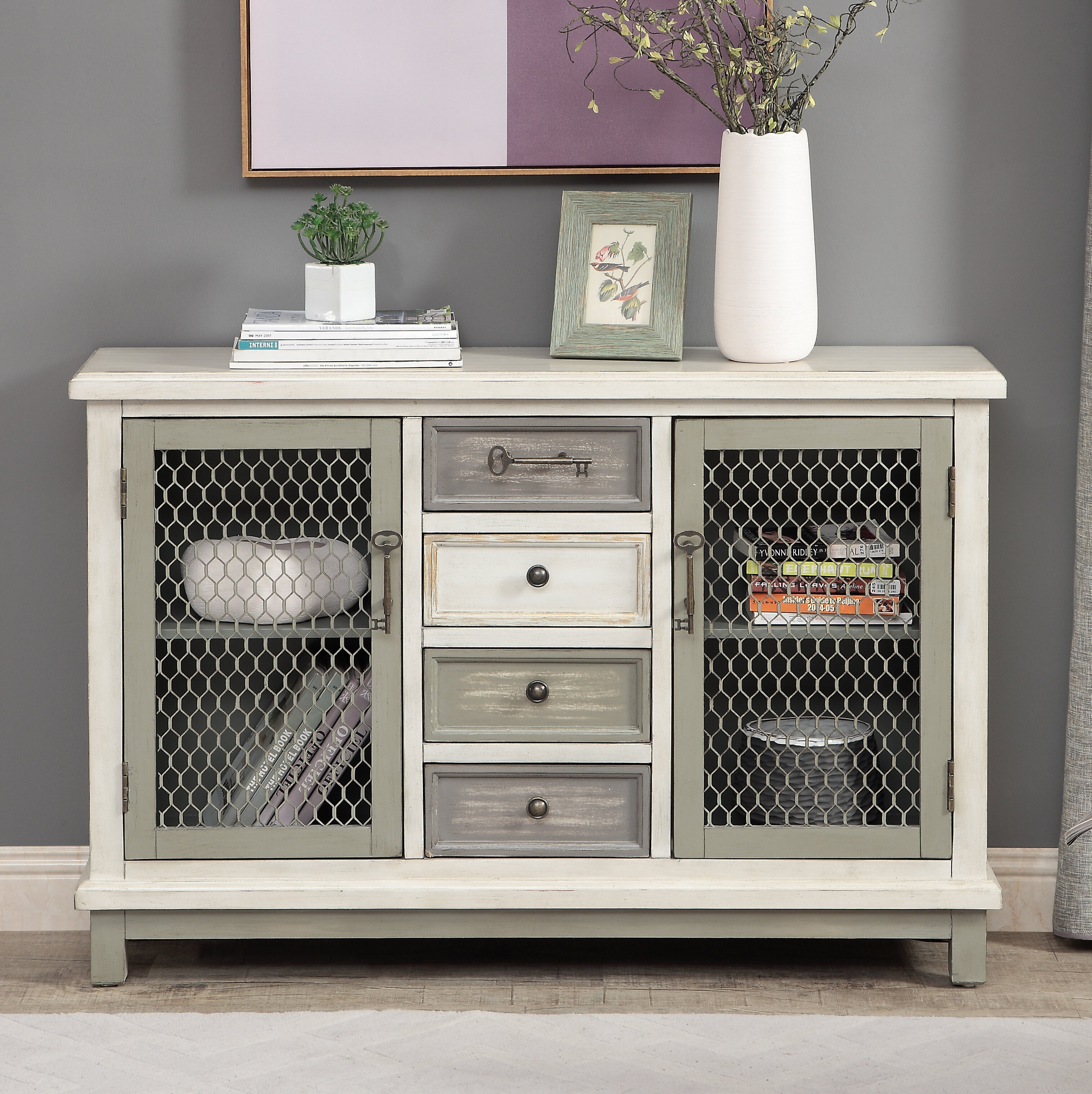 Fugate 2 Door Credenza intended for Chicoree Charlena Sideboards (Image 10 of 30)