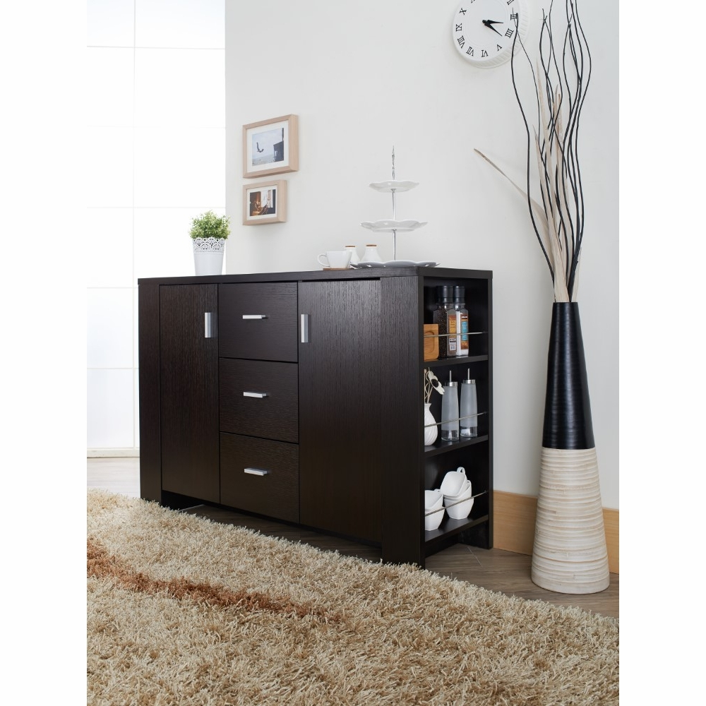 Furniture Of America – Antony Contemporary Dining Buffet In Cappuccino – Id 11424 Throughout Contemporary Cappuccino Dining Buffets (View 9 of 30)
