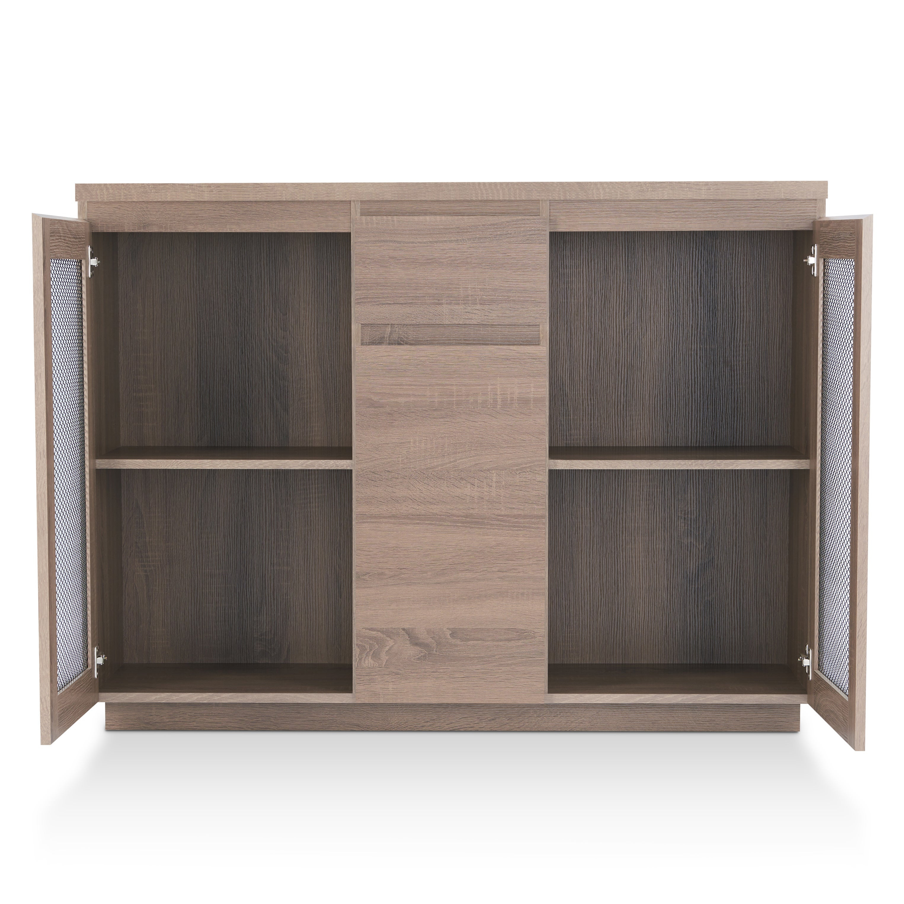 Furniture Of America Darwen Contemporary Multi Storage Dining Buffet Intended For Contemporary Multi Storage Dining Buffets (View 9 of 30)
