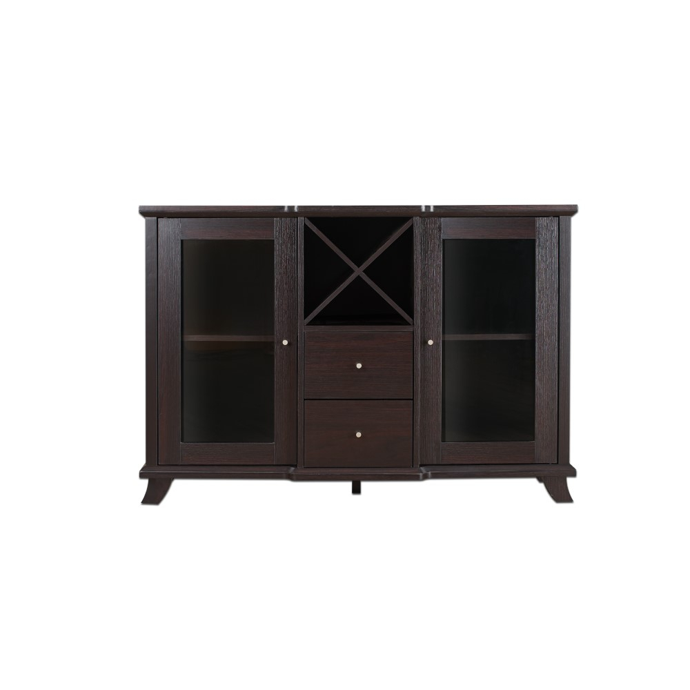 Furniture Of America – Jens Contemporary Multi Storage Dining Buffet In Cappuccino – Idi 13835 Regarding Contemporary Cappuccino Buffets (View 8 of 30)