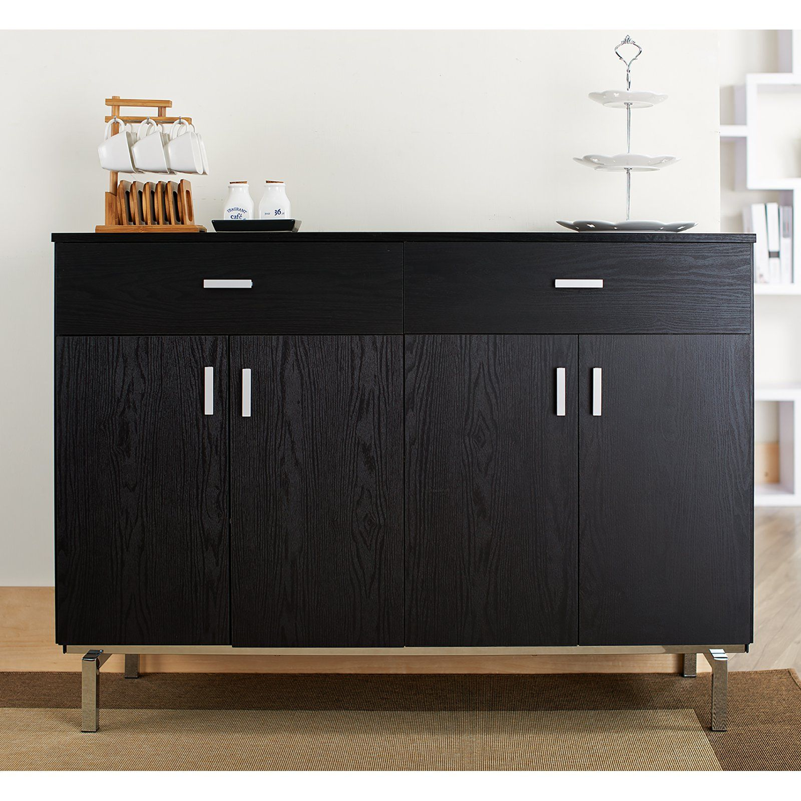 Furniture Of America Mason Buffet In 2019 | Products | Black In Simple Living Southport Dining Buffets (View 12 of 30)