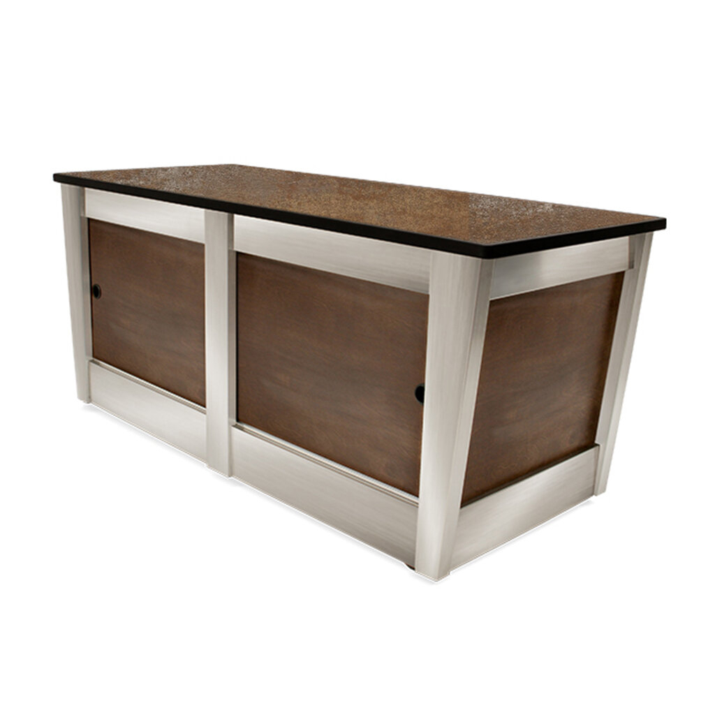 Gambill Urban Tavolo Rolling Buffet Table For Contemporary Rolling Buffets (View 16 of 30)