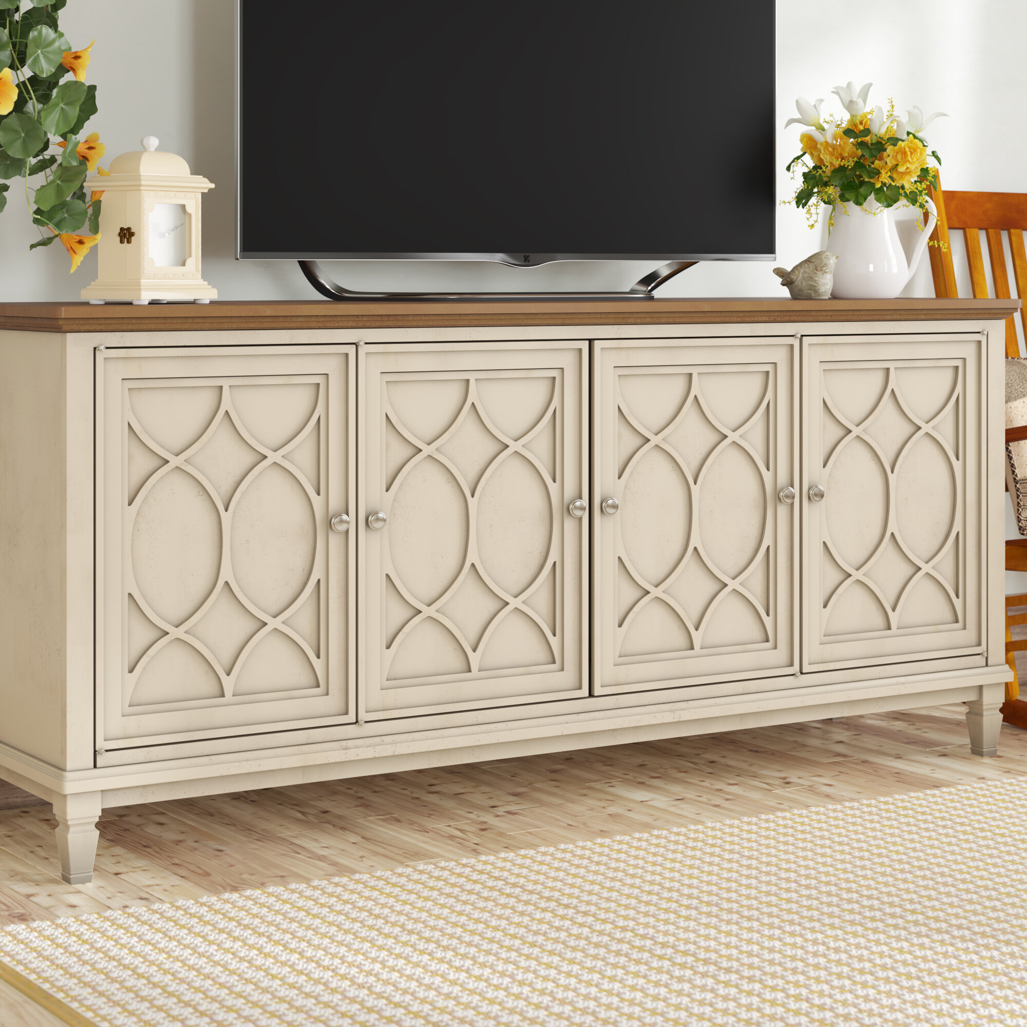 """Gammill Tv Stand For Tvs Up To 75"""" Intended For Parmelee Tv Stands For Tvs Up To 65"""" (View 20 of 30)"""