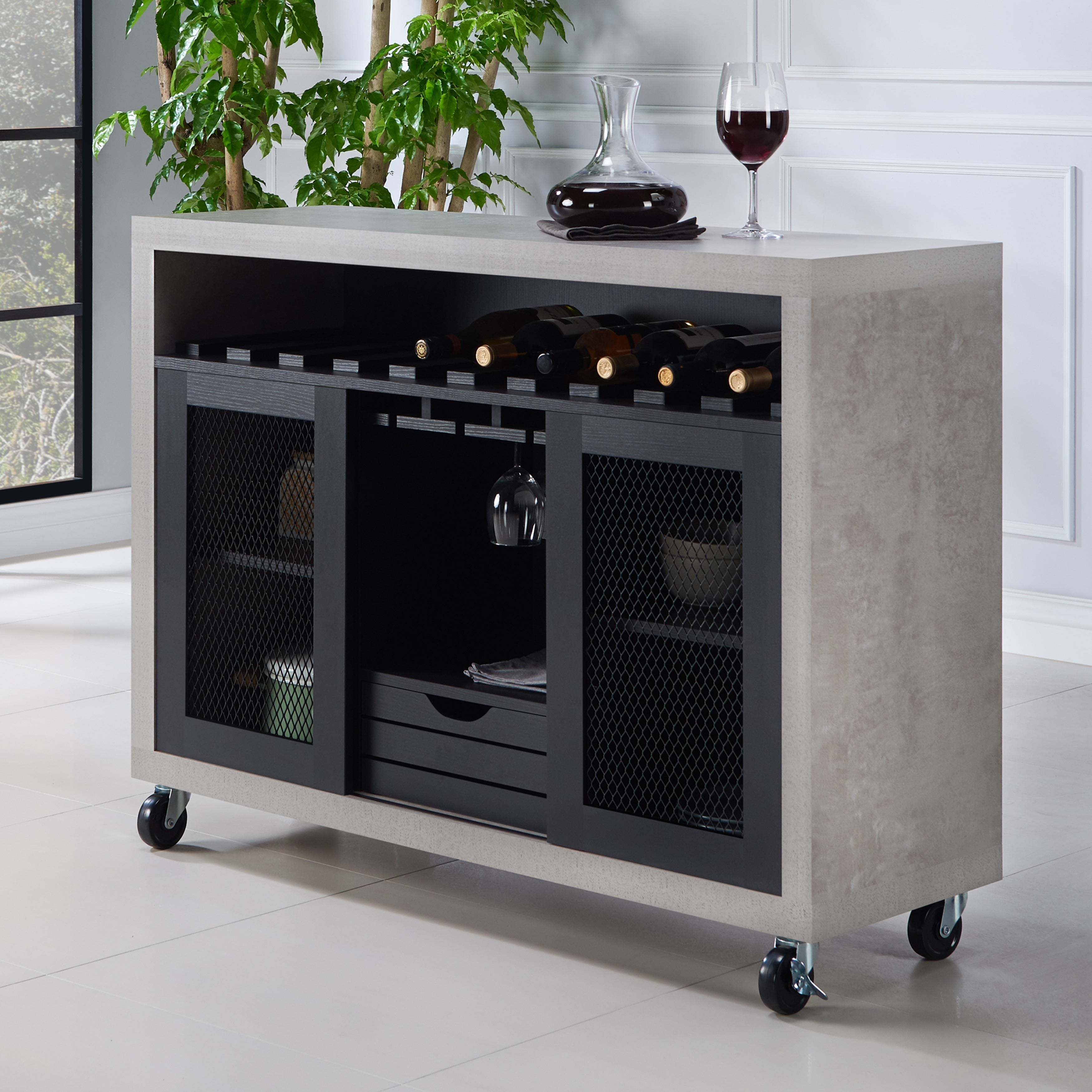 Gelenan Contemporary Rolling Buffetfoa Intended For Contemporary Buffets (View 15 of 30)