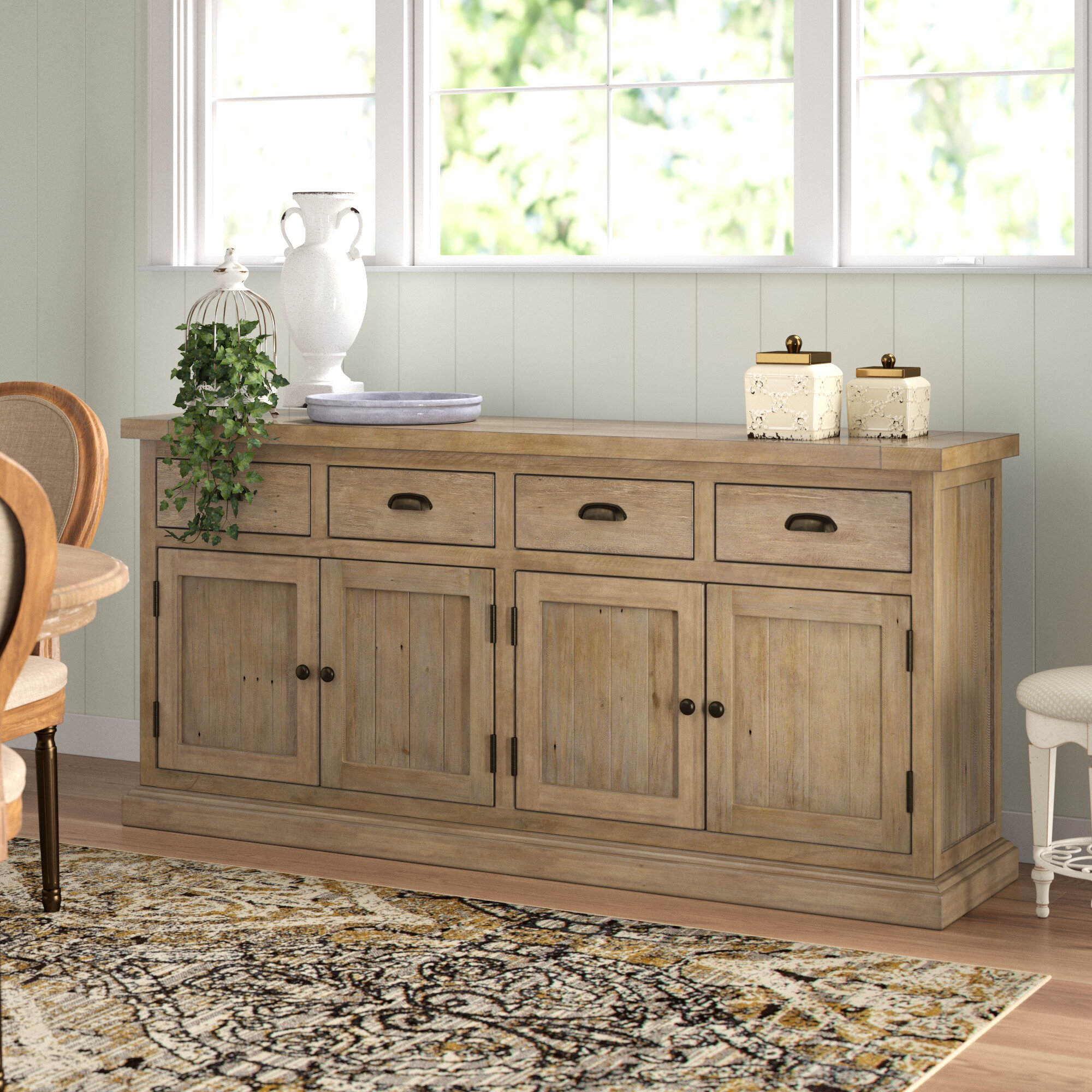 Gertrude Sideboard in Amityville Wood Sideboards (Image 22 of 30)