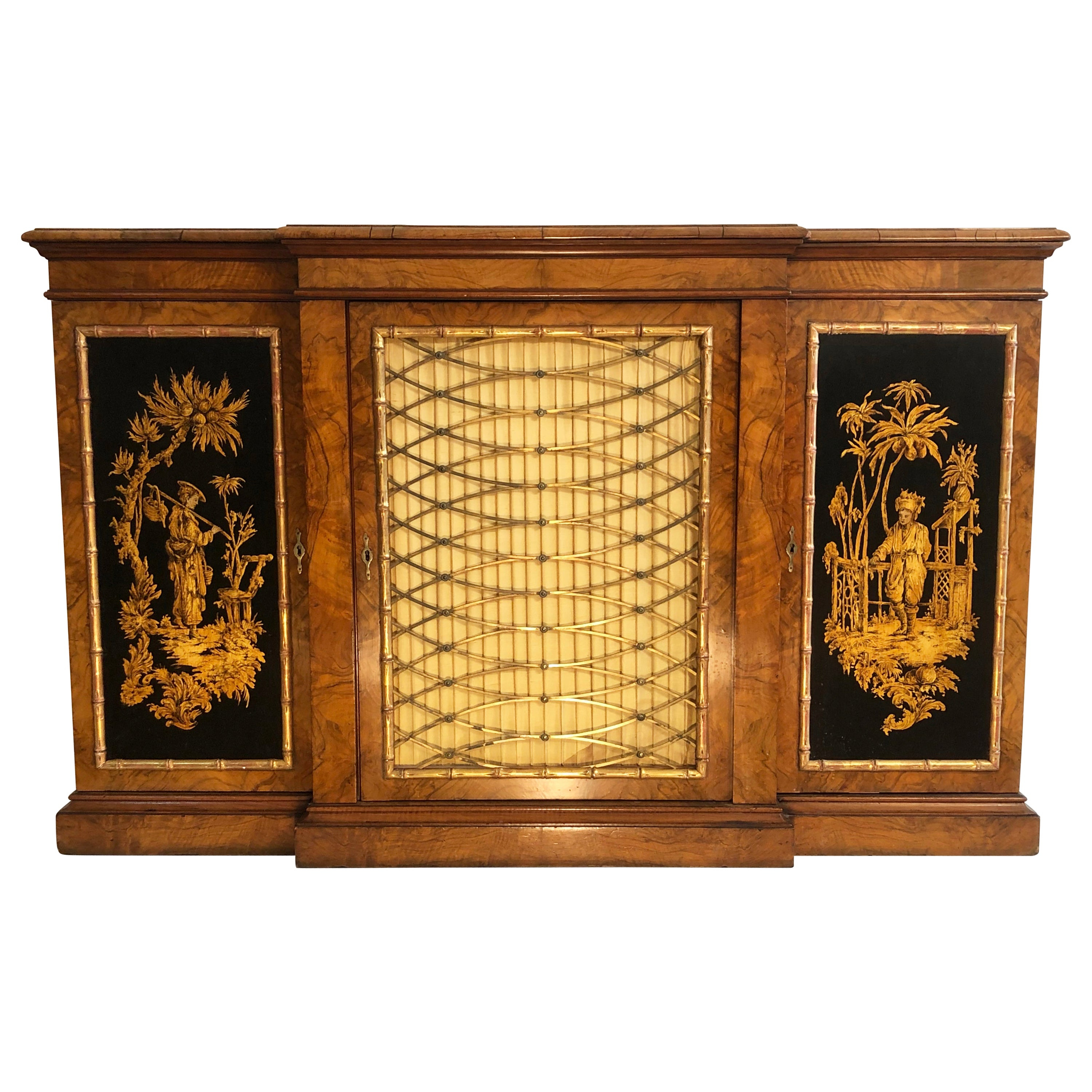Gold Leaf Credenzas - 17 For Sale At 1Stdibs with Colorful Leaves Credenzas (Image 21 of 30)