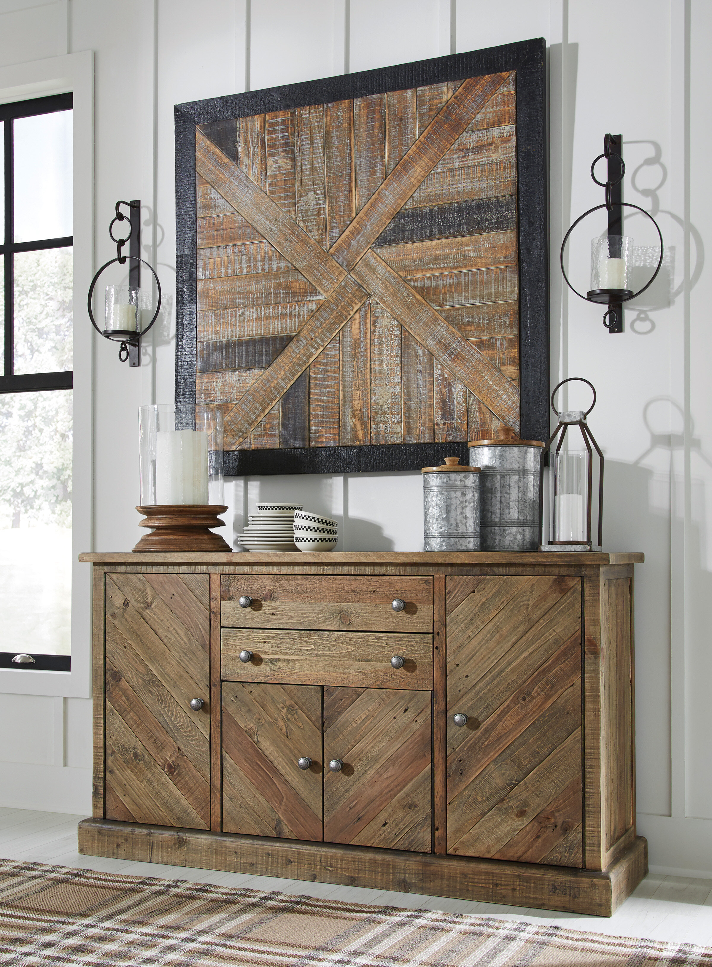 Gracie Oaks Jessamine Sideboard & Reviews | Wayfair throughout Avenal Sideboards (Image 19 of 30)